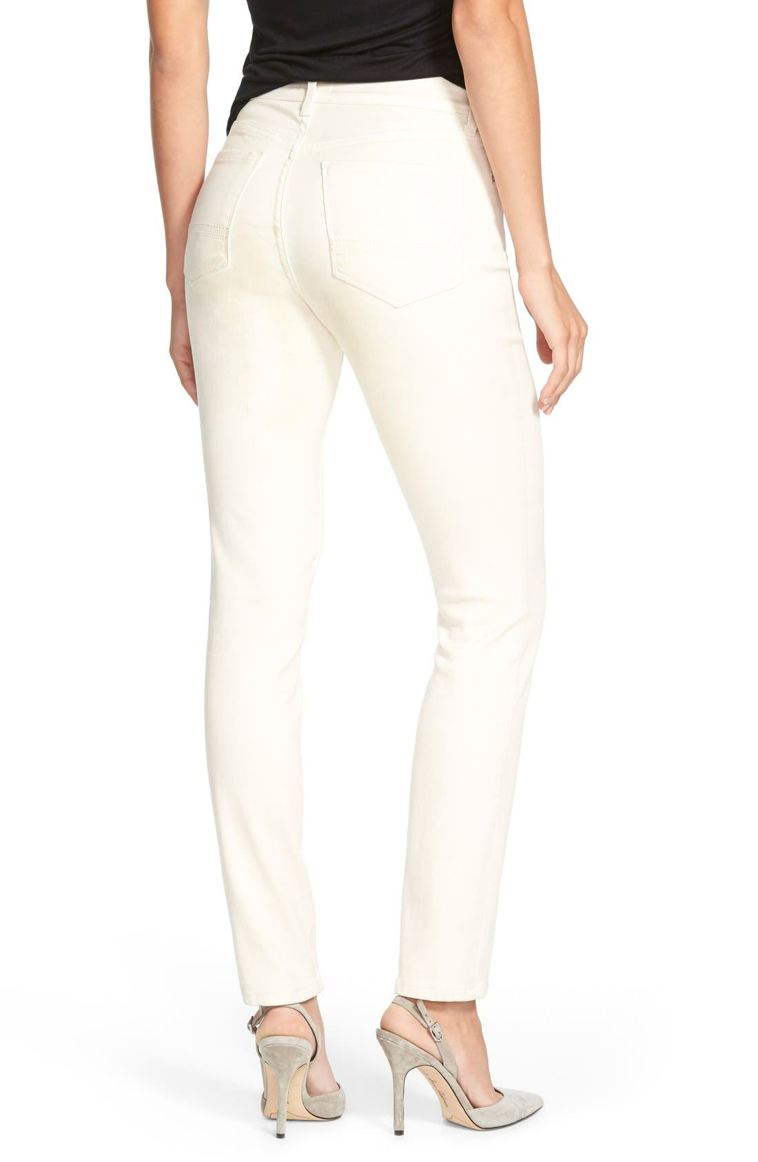 Alina Colored Stretch Skinny Jeans,                             Alternate thumbnail 78, color,