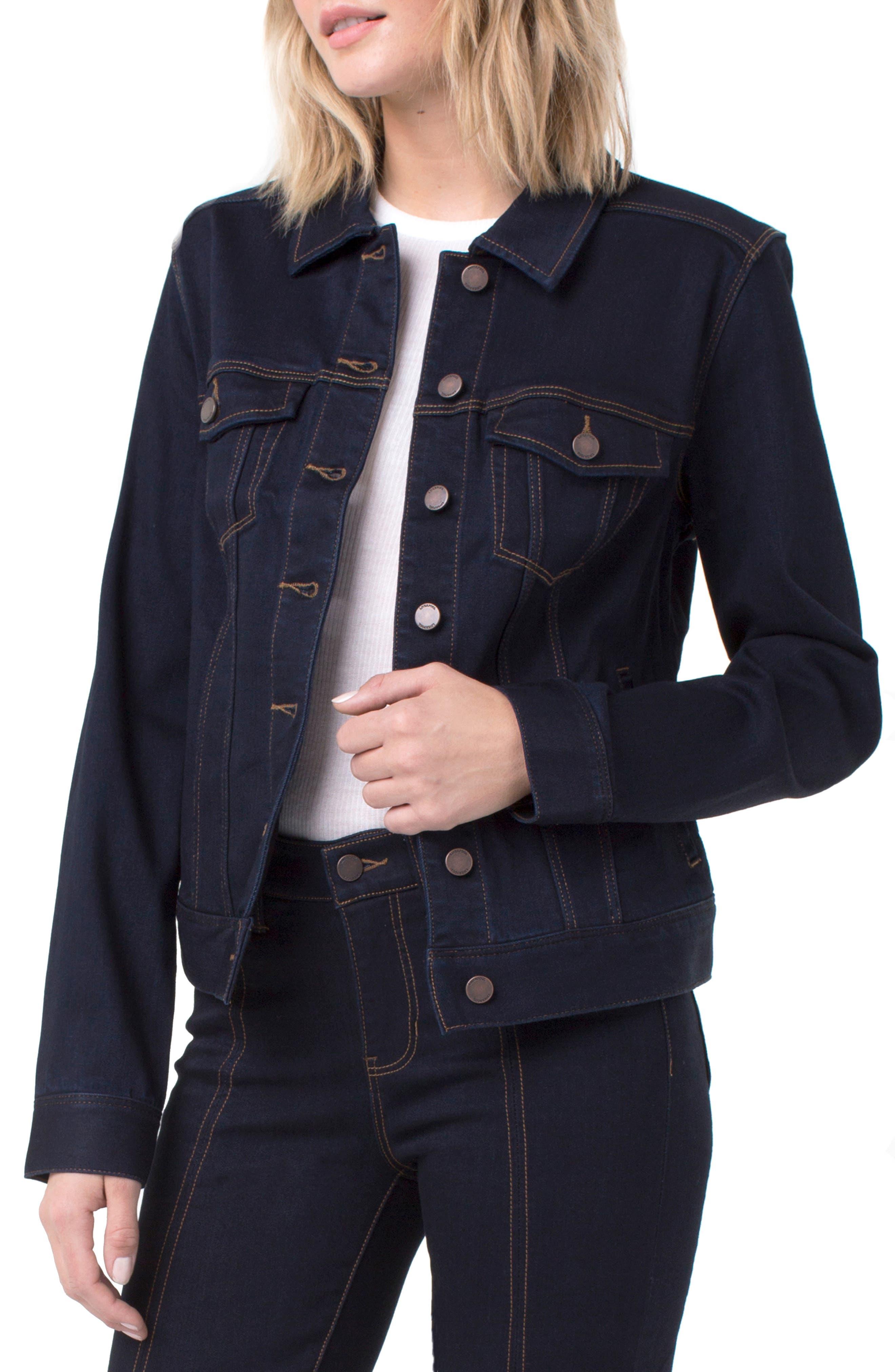 LIVERPOOL Classic Denim Jacket in Indigo Rinse