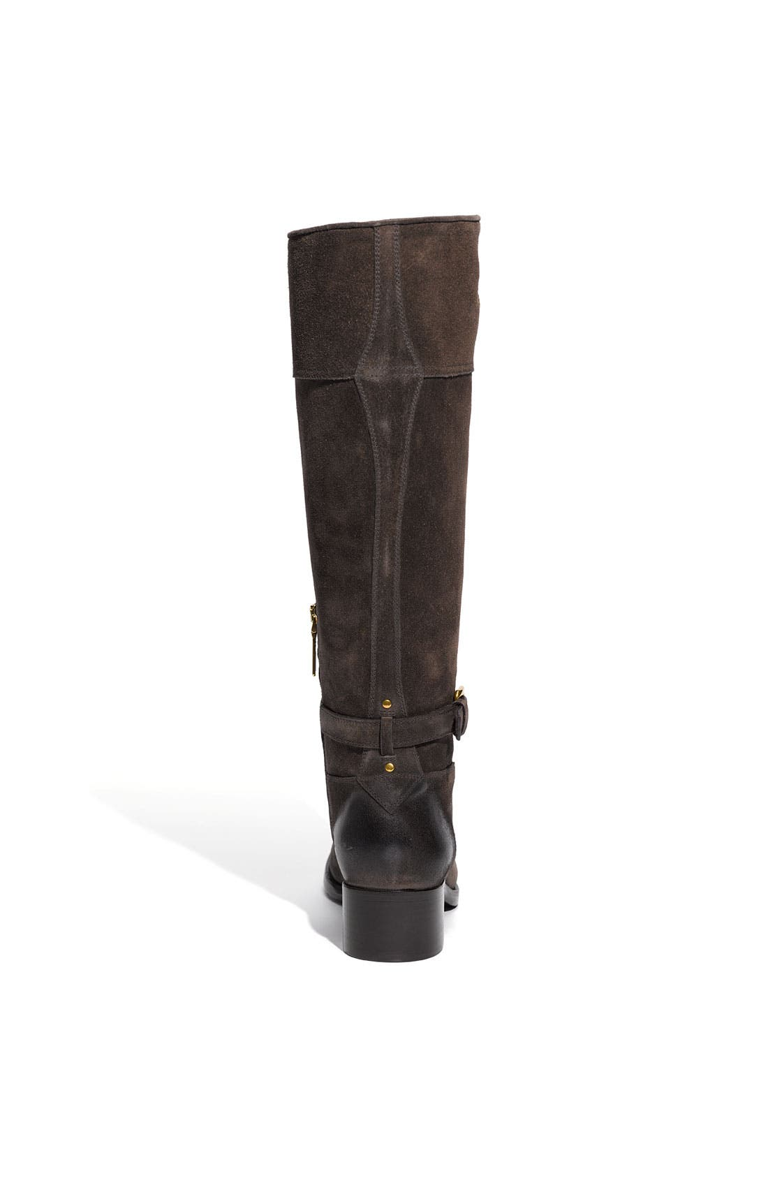 Leather Riding Boot,                             Alternate thumbnail 3, color,                             020