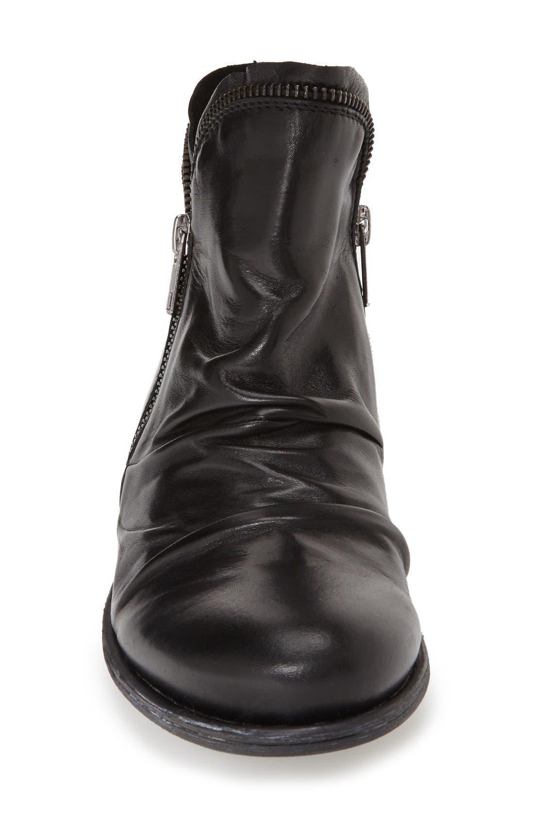 'Luna' Ankle Boot,                             Alternate thumbnail 3, color,                             BLACK
