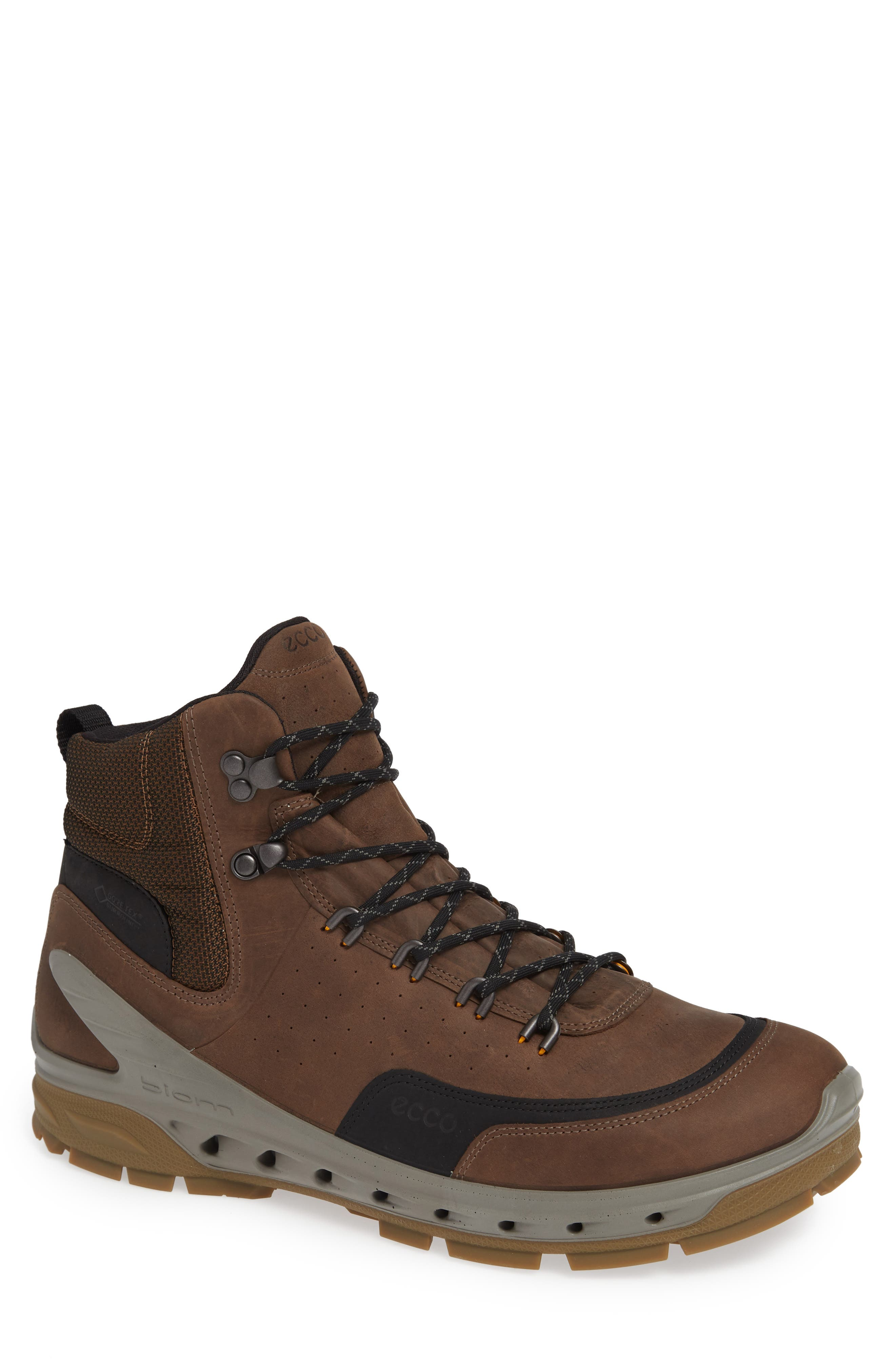 UPC 809704479736 product image for Men's Ecco Biom Venture Tr Gtx Boot, Size 7-7.5US / 41EU - Brown | upcitemdb.com