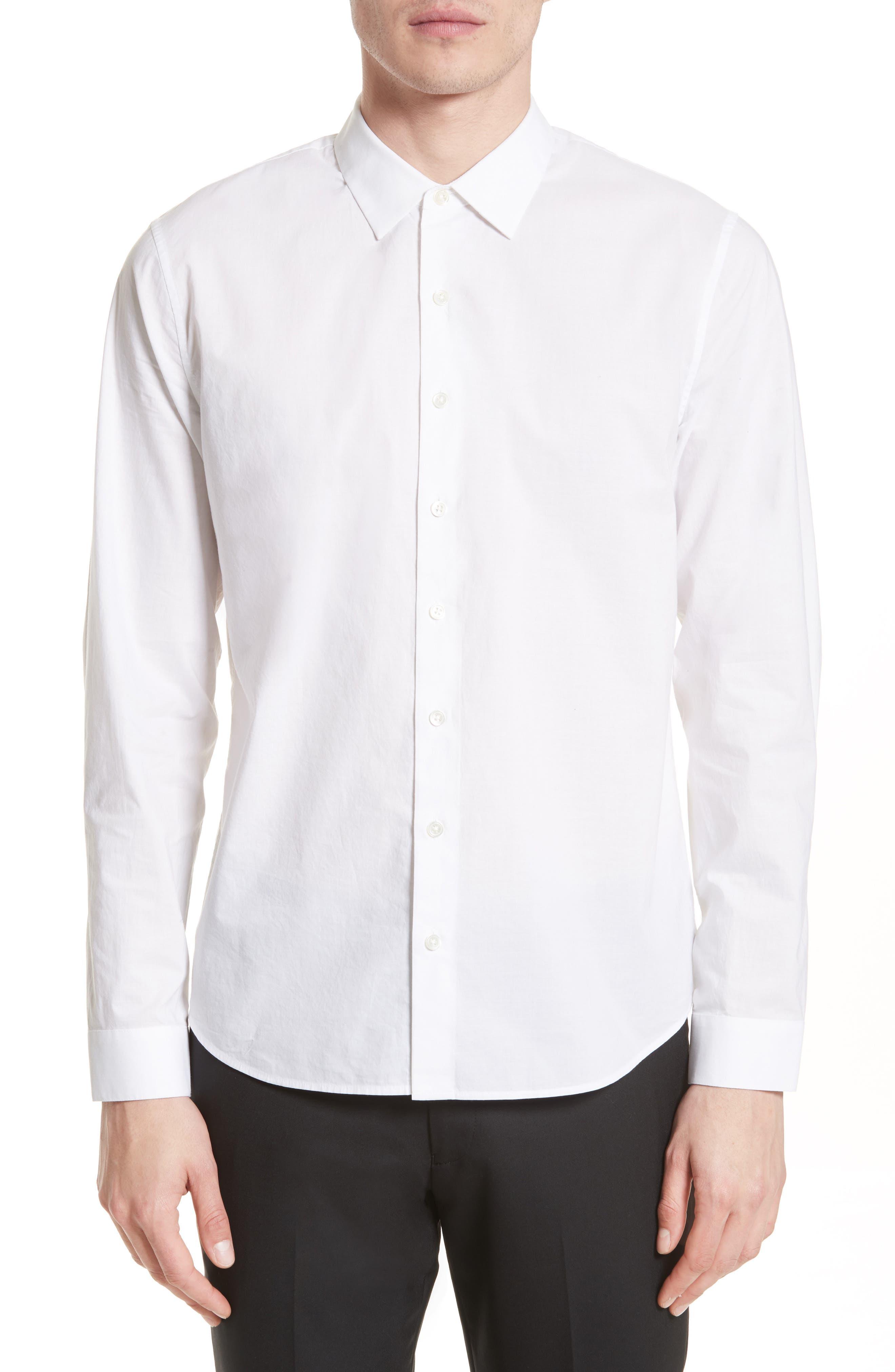 Cotton Dress Shirt,                             Main thumbnail 2, color,
