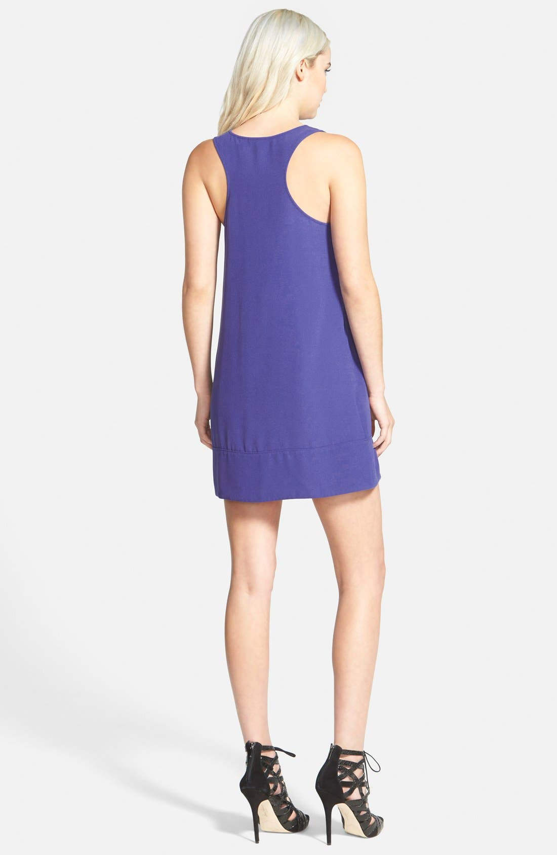 Racerback Shift Dress,                             Alternate thumbnail 109, color,