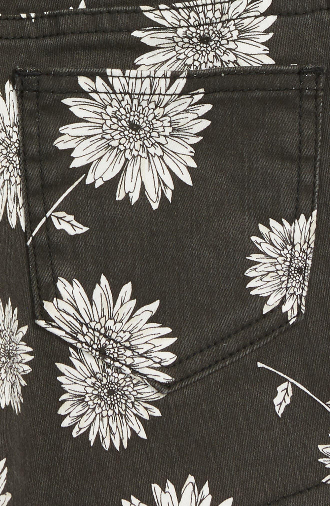 Buttoned Up Denim Shorts,                             Alternate thumbnail 3, color,                             001