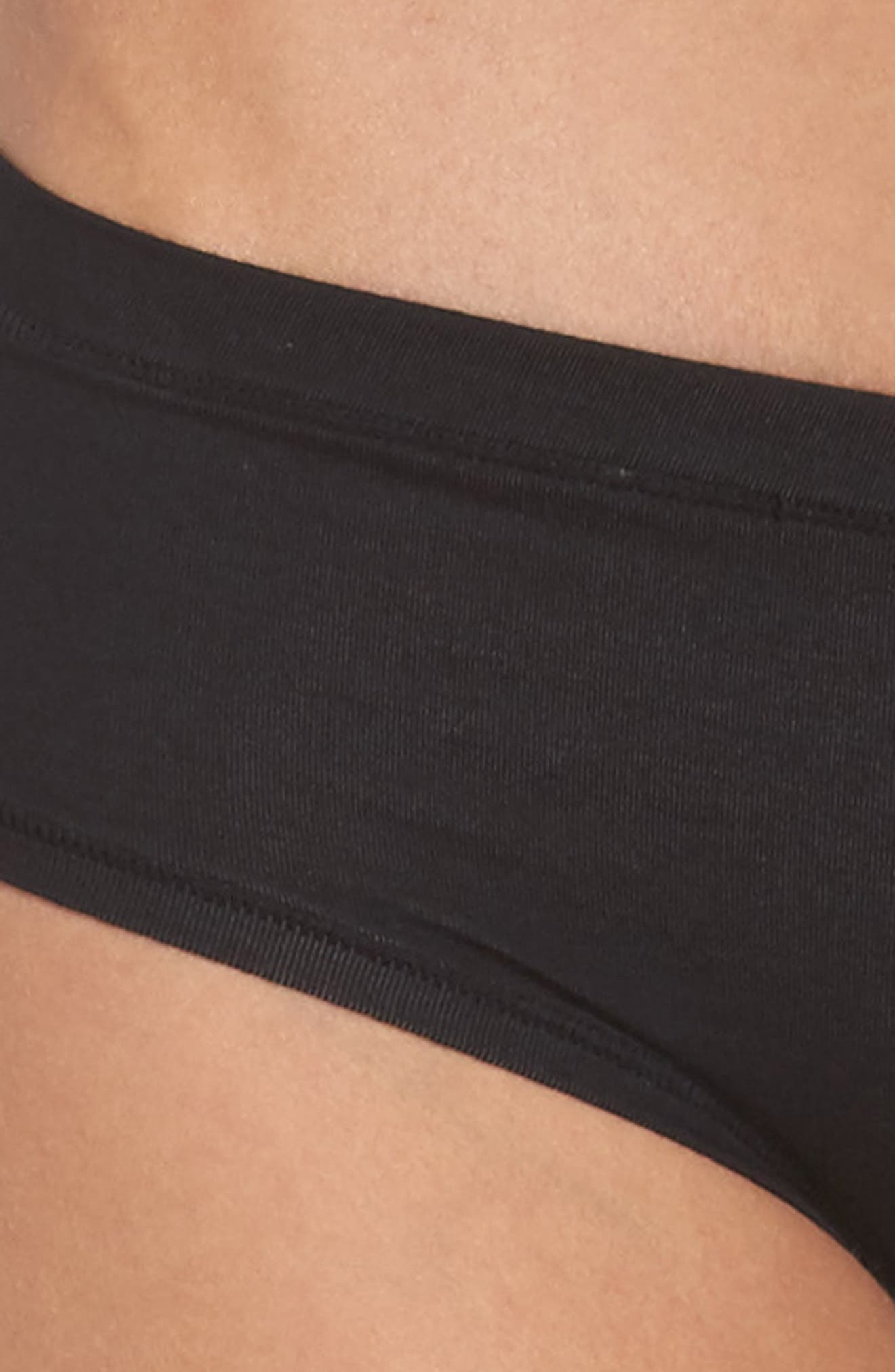 Hipster Briefs,                             Alternate thumbnail 4, color,                             BLACK