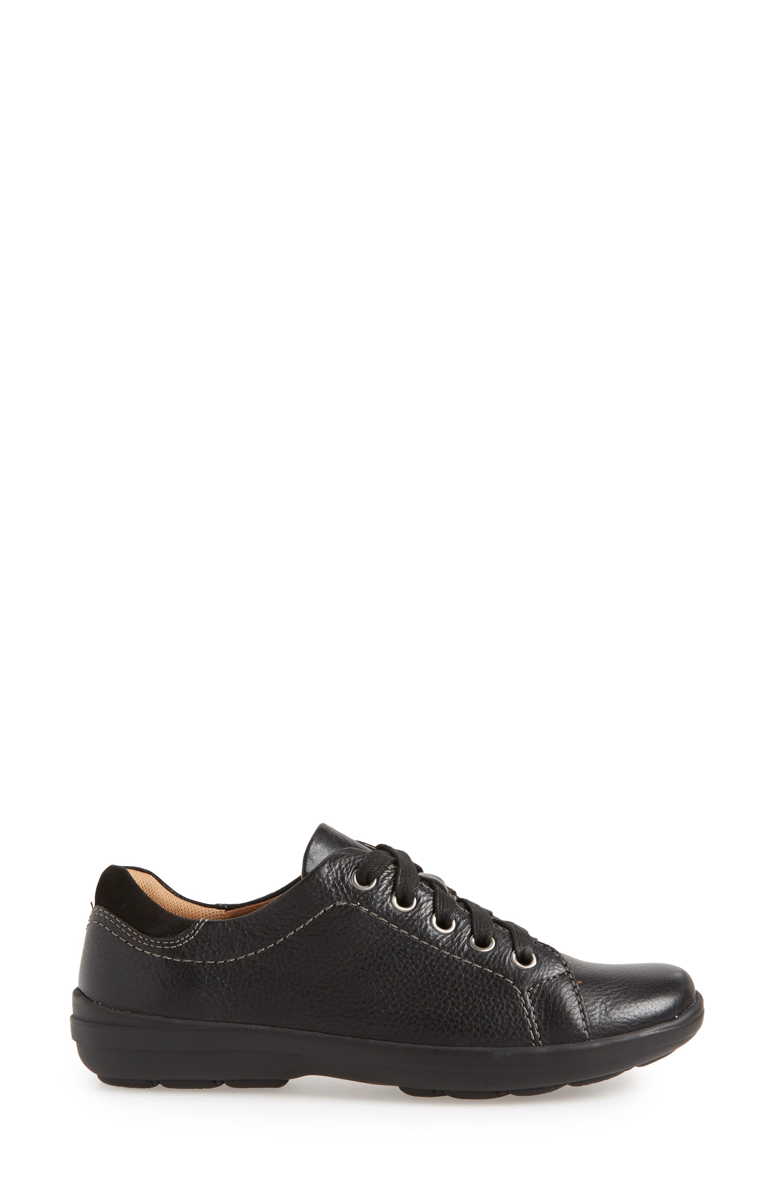 Reston Sneaker,                             Alternate thumbnail 3, color,                             BLACK