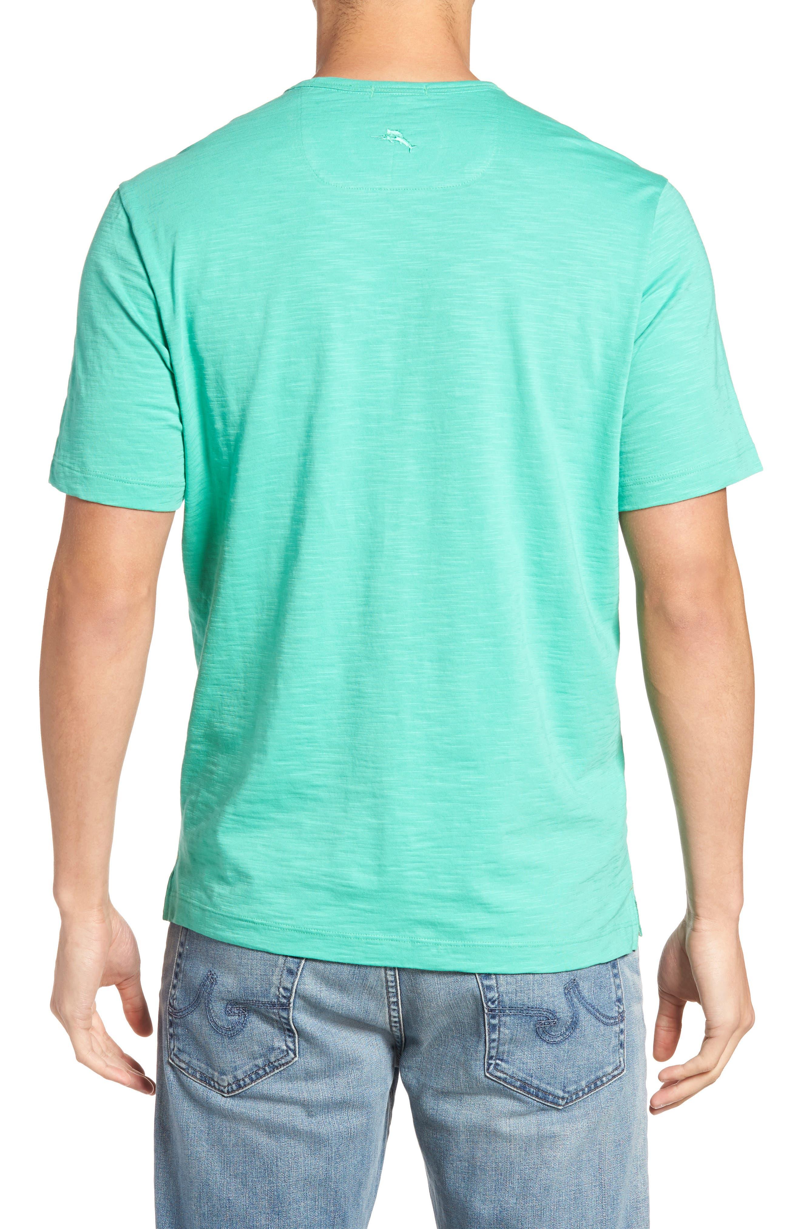 'Portside Player' Pima Cotton T-Shirt,                             Alternate thumbnail 19, color,