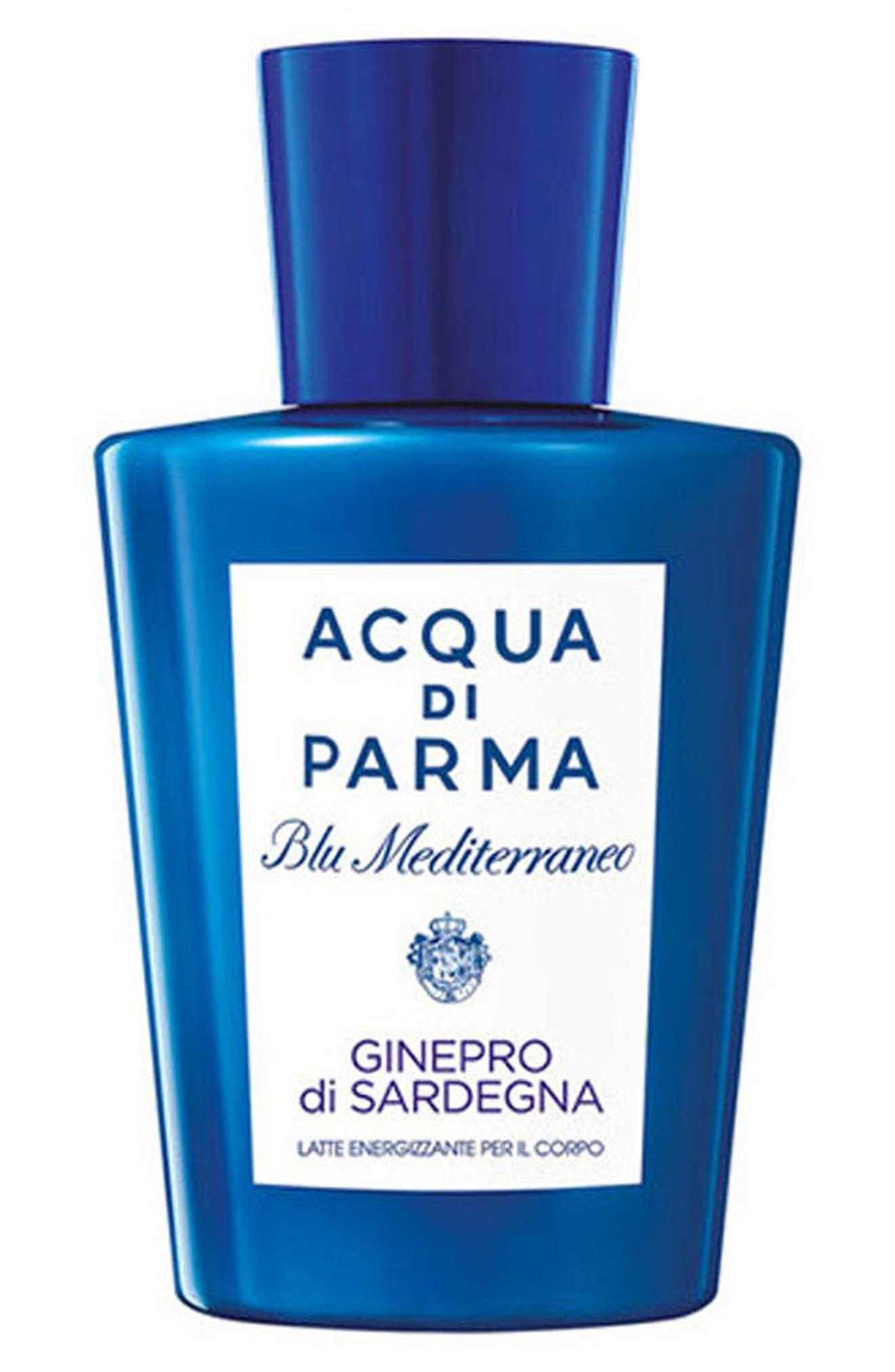 'Blu Mediterraneo - Ginepro di Sardegna' Energizing Body Lotion,                             Main thumbnail 1, color,                             000