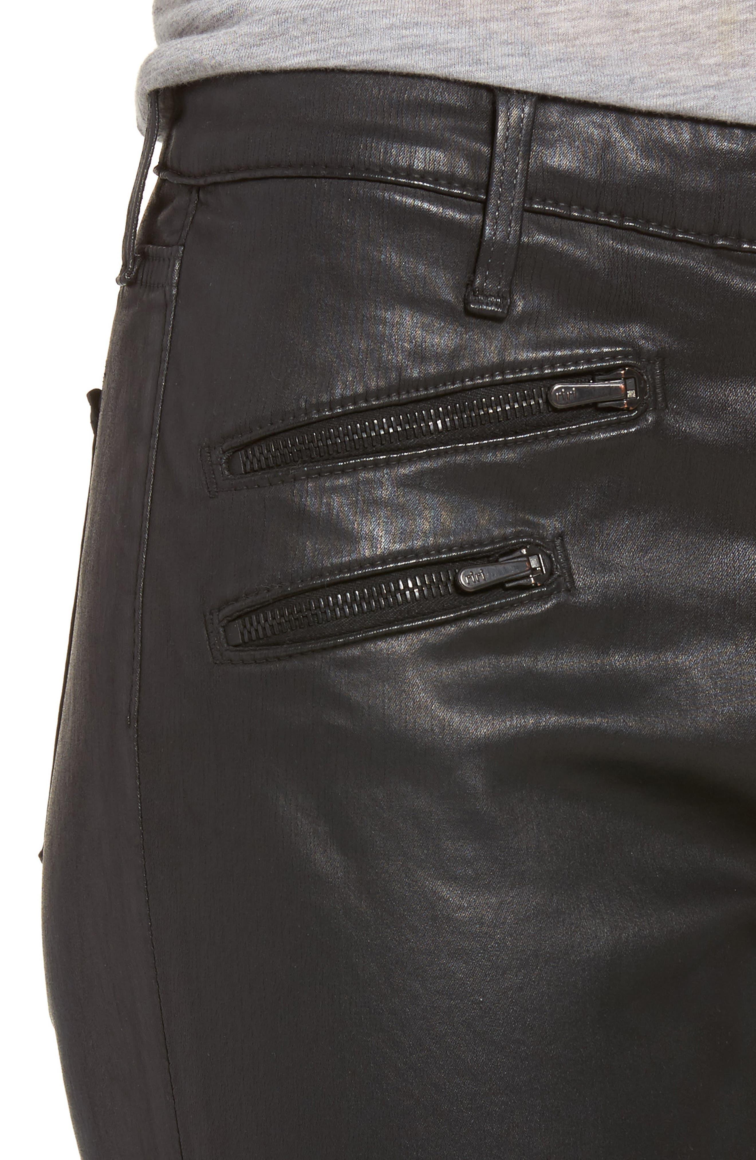 The Legging Moto Ankle Pants,                             Alternate thumbnail 4, color,