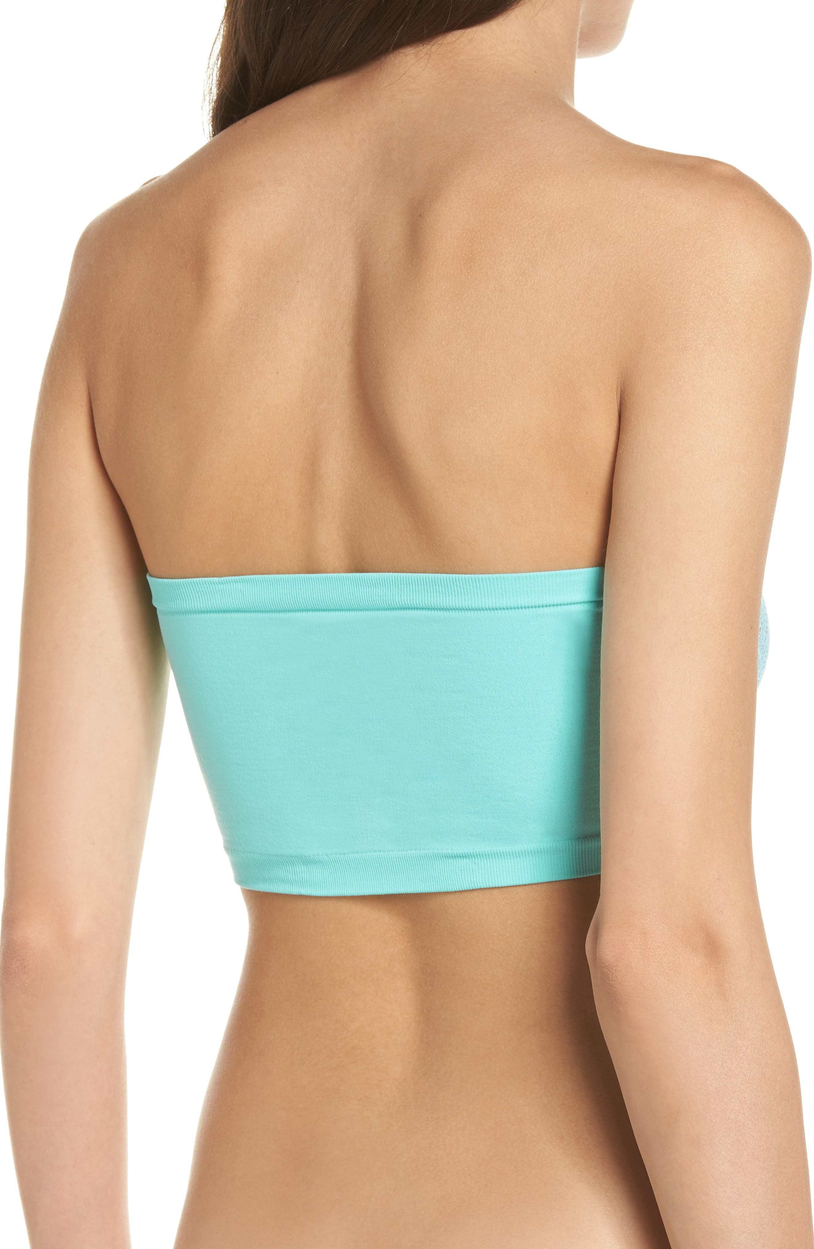 Intimately FP Lace Reversible Seamless Bandeau,                             Alternate thumbnail 16, color,