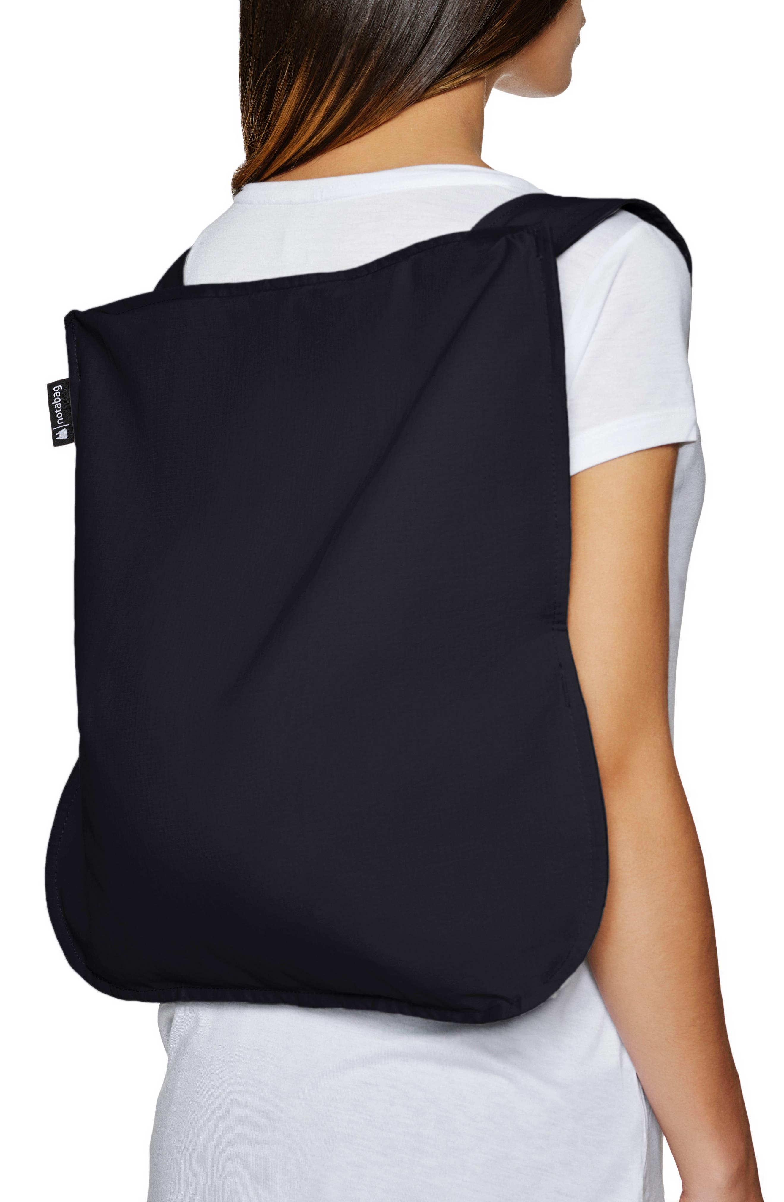 Convertible Tote Backpack,                             Alternate thumbnail 2, color,                             BLACK