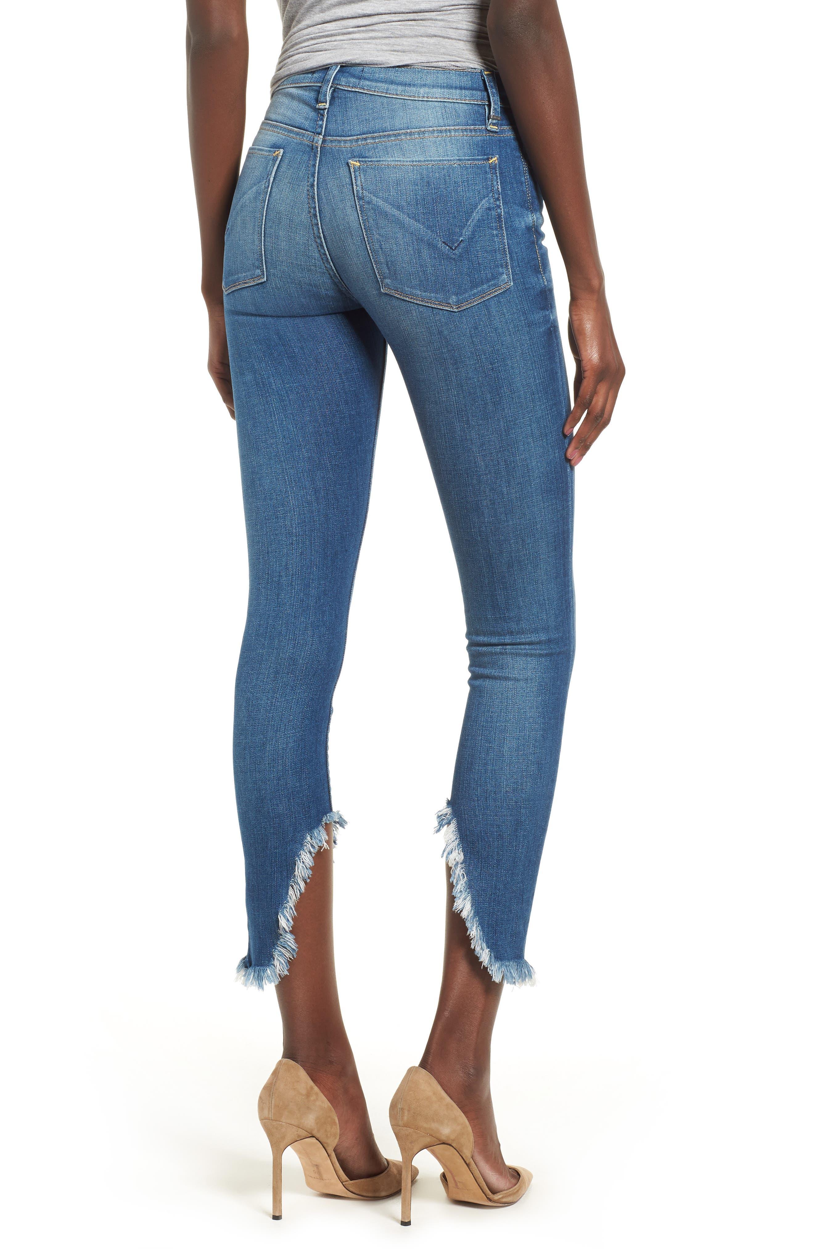 HUDSON JEANS,                             Nico Ankle Super Skinny Jeans,                             Alternate thumbnail 2, color,                             404