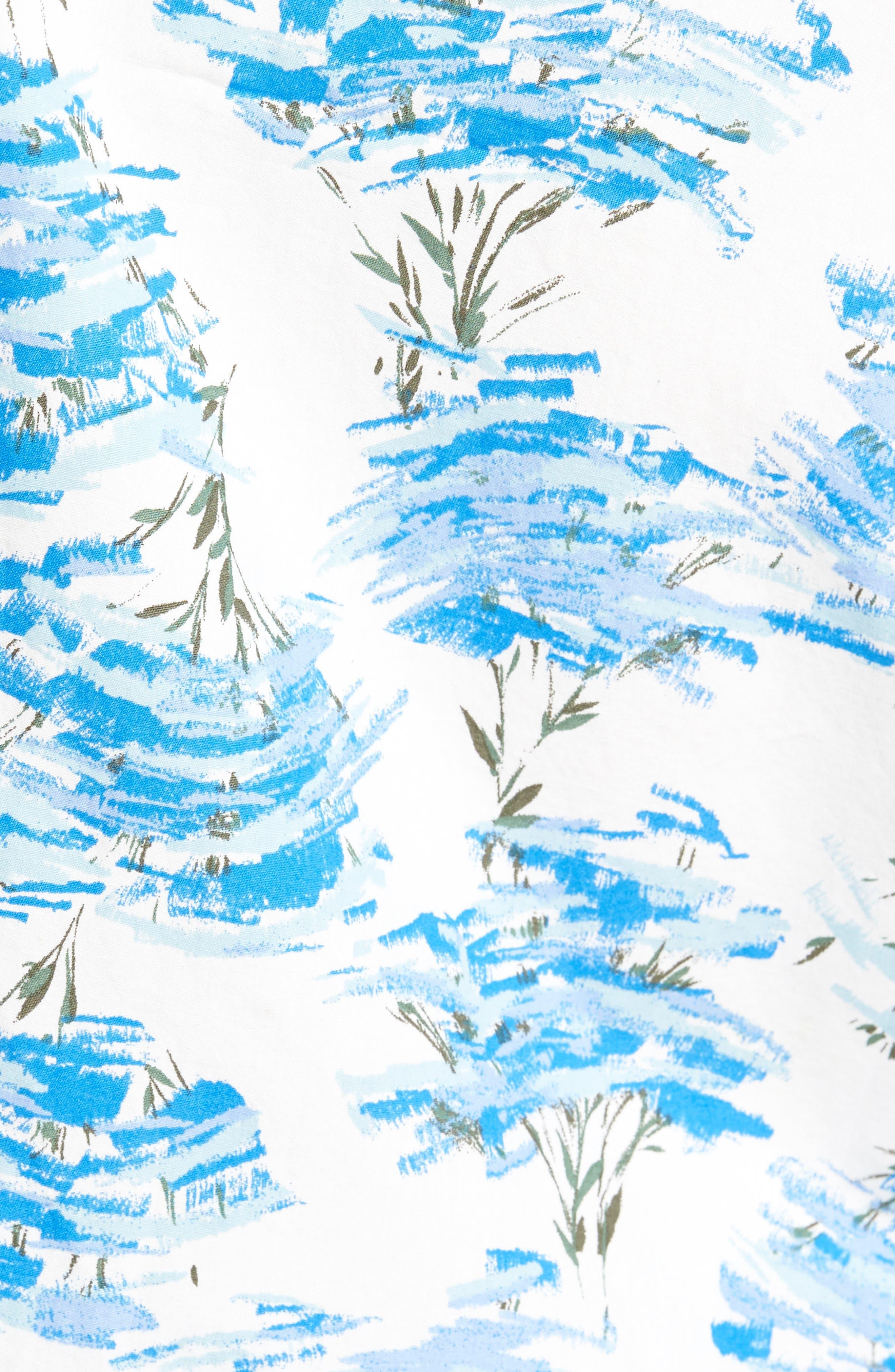 Short Sleeve Print Poplin Shirt,                             Alternate thumbnail 25, color,