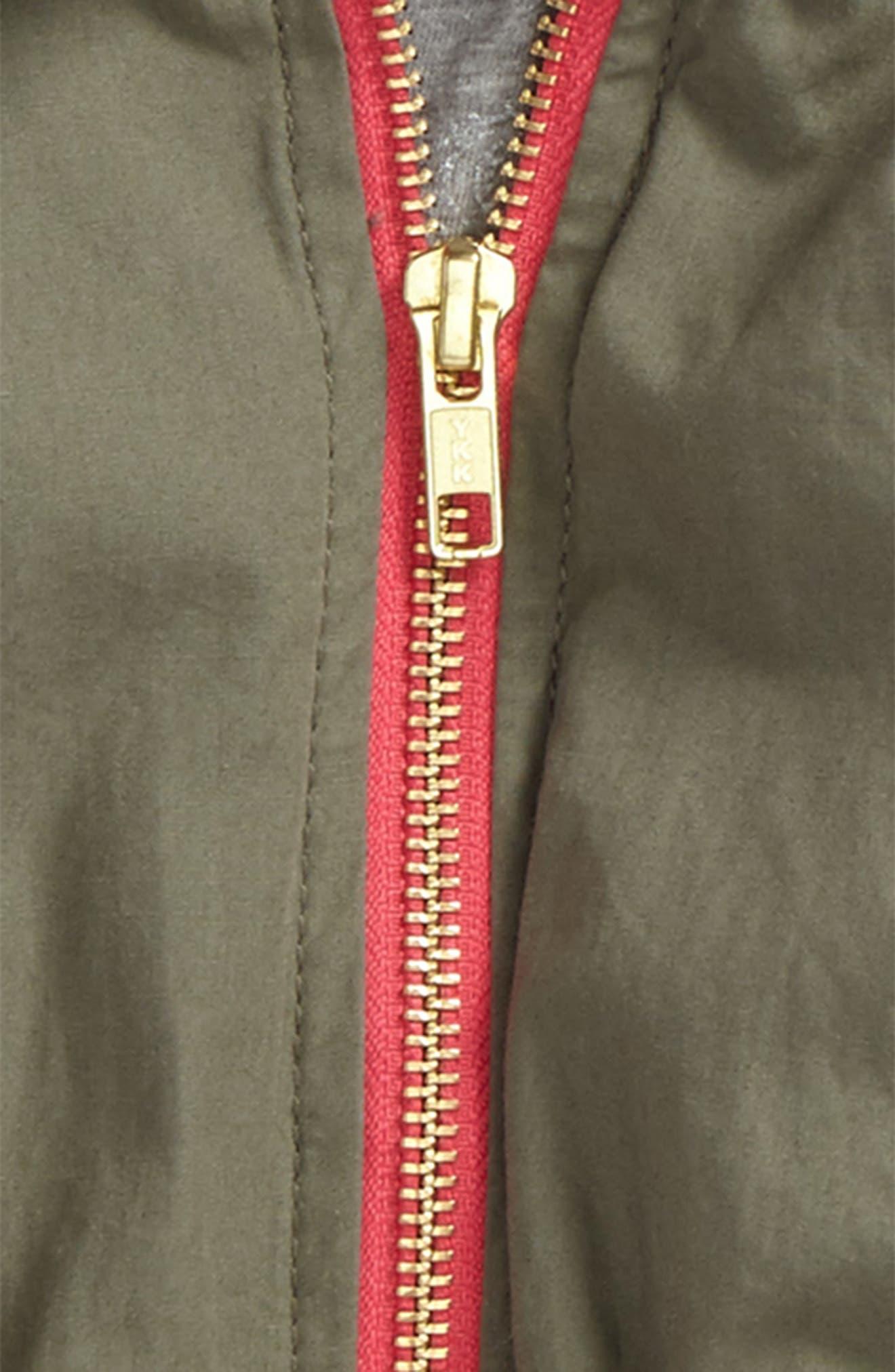 Gwen Hooded Jacket,                             Alternate thumbnail 2, color,