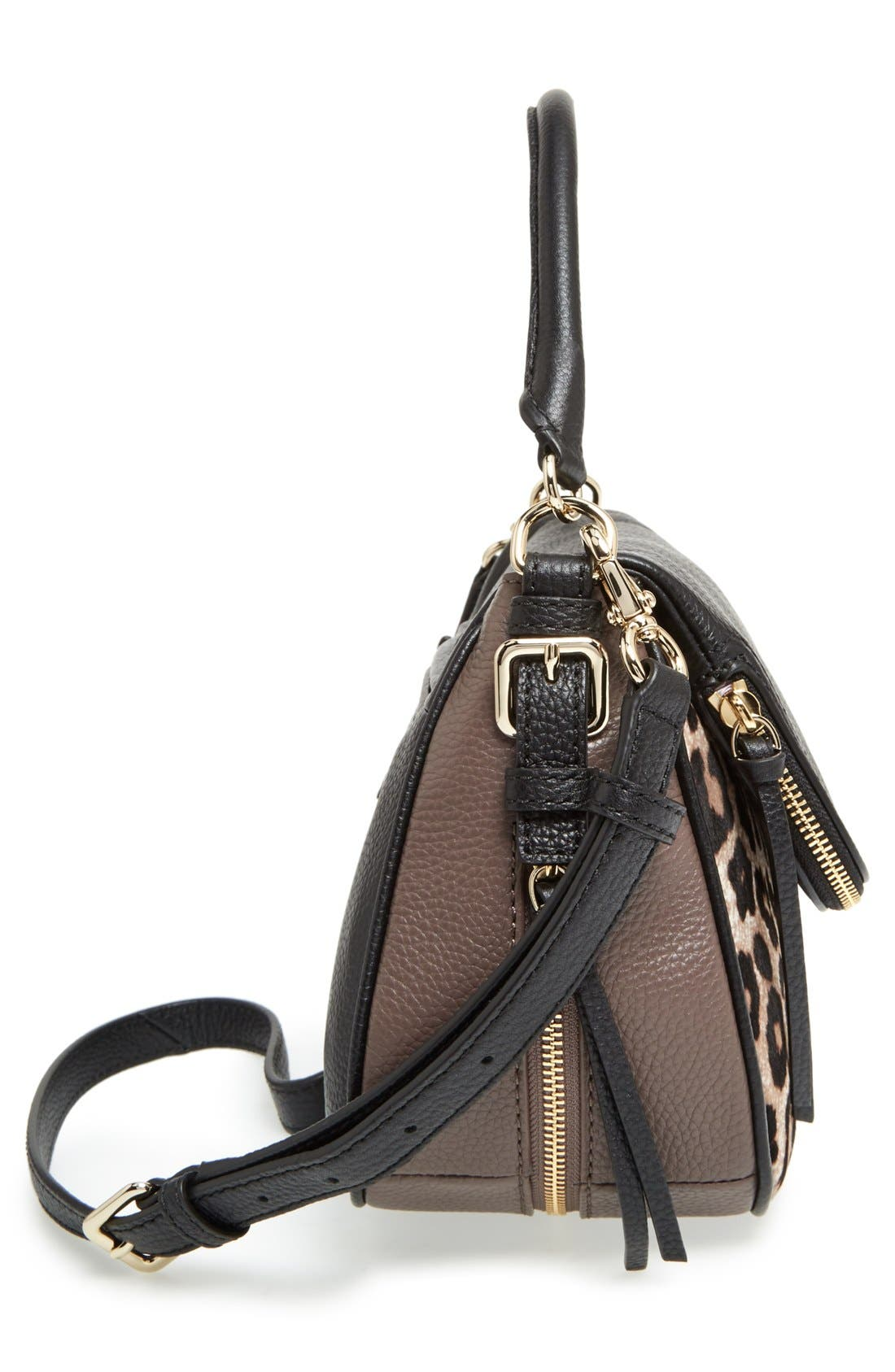 cobble hill - deva leather crossbody bag,                             Alternate thumbnail 34, color,
