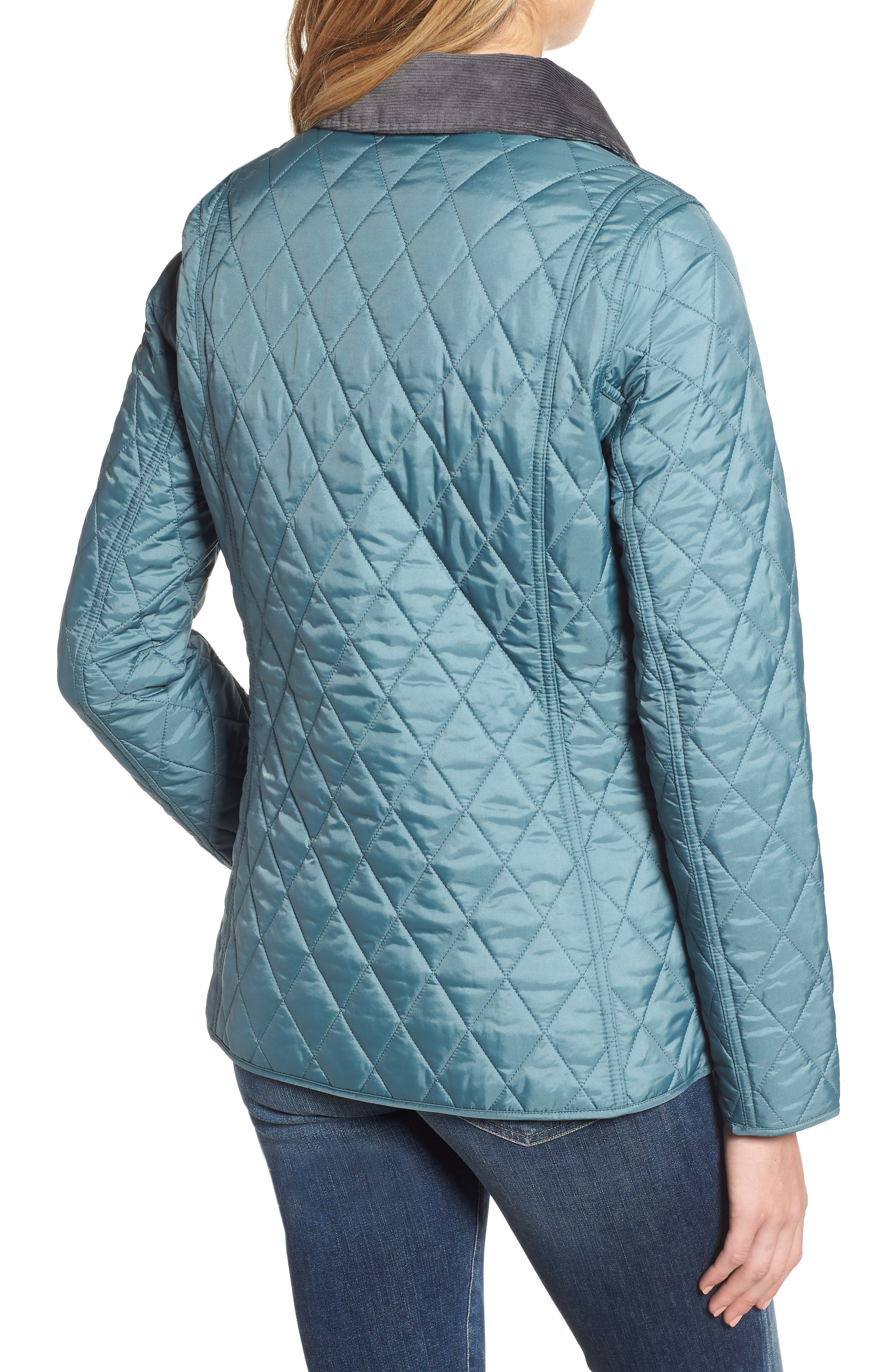 Annandale Quilted Jacket,                             Alternate thumbnail 2, color,                             EUCALYPTUS