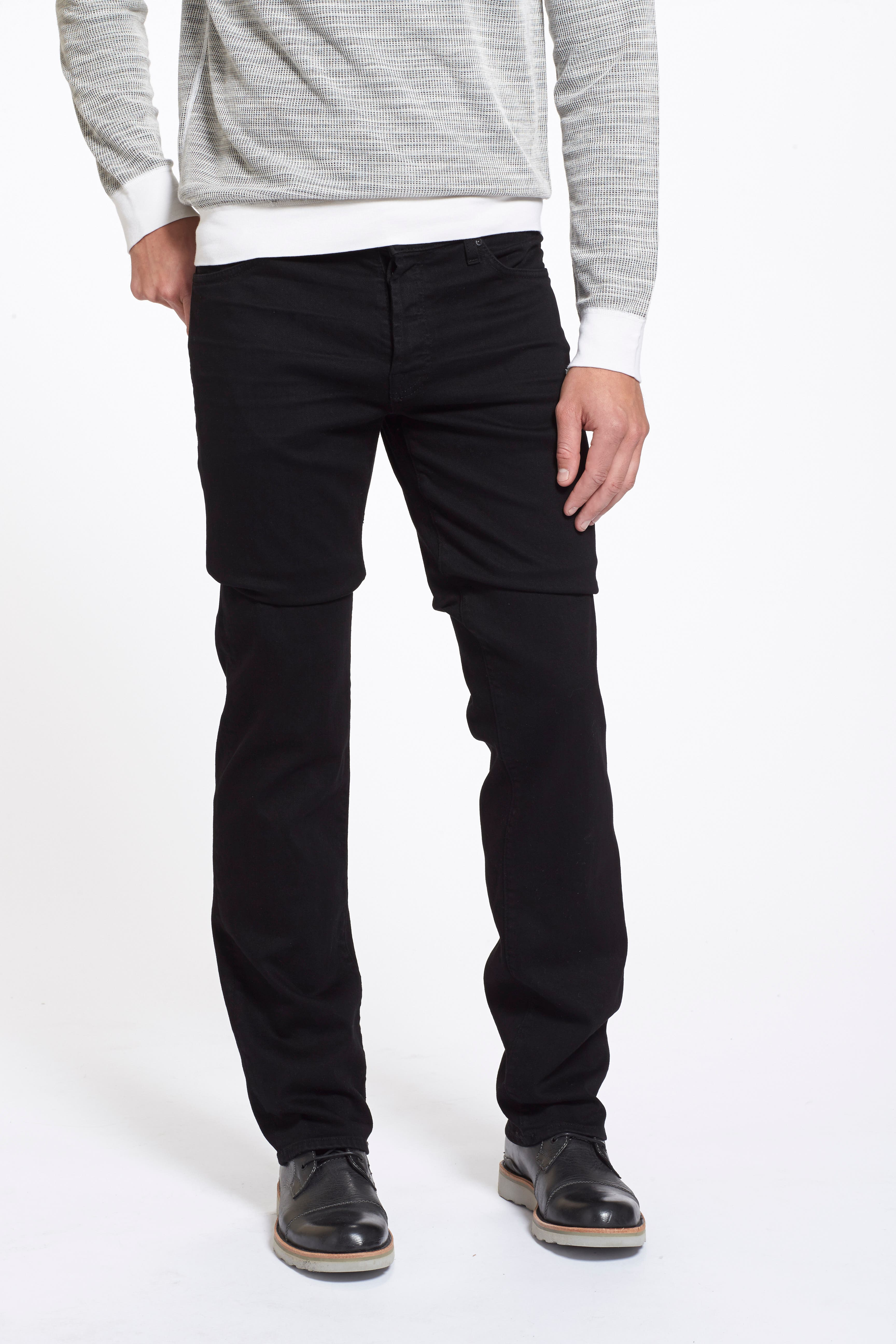 The Standard - Luxe Performance Straight Leg Jeans,                             Alternate thumbnail 4, color,                             004