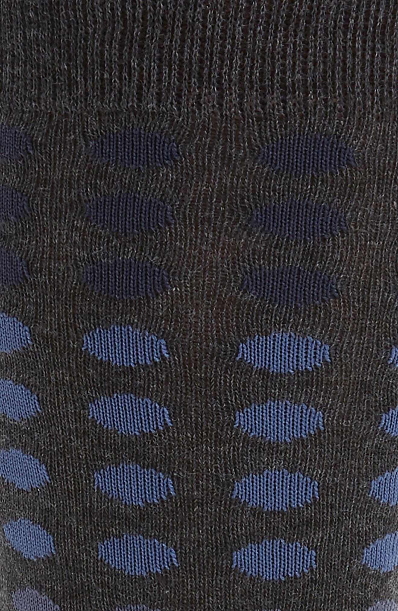 Gradient Dot Socks,                             Alternate thumbnail 2, color,                             021