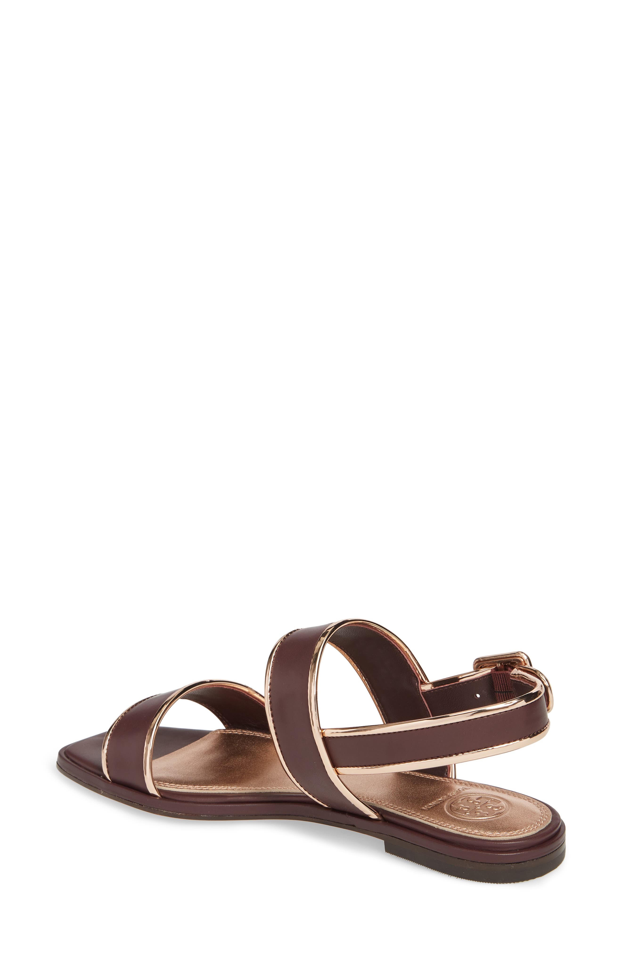 Delaney Double Strap Sandal,                             Alternate thumbnail 10, color,