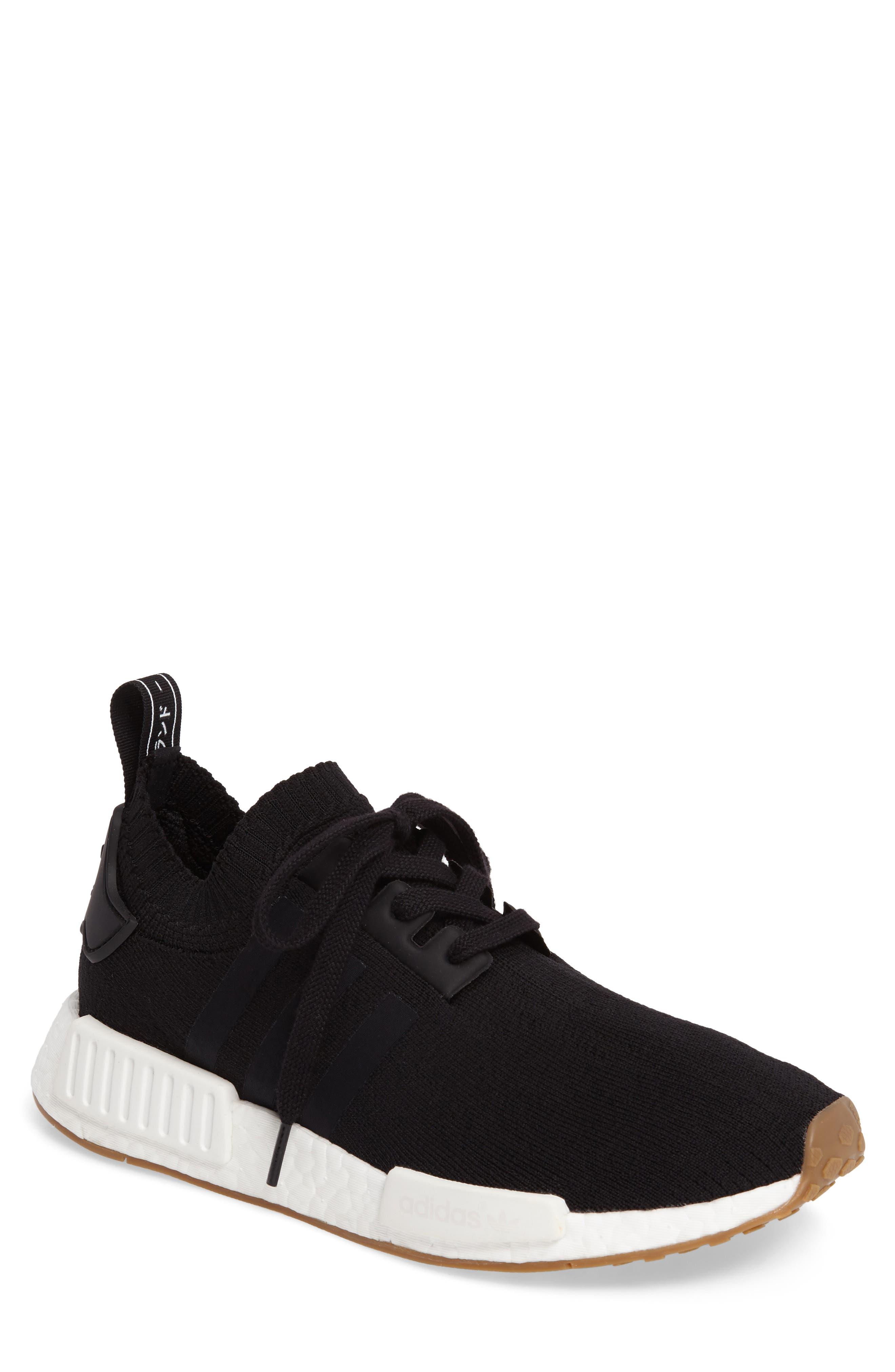 NMD R1 Primeknit Sneaker,                             Main thumbnail 1, color,                             002