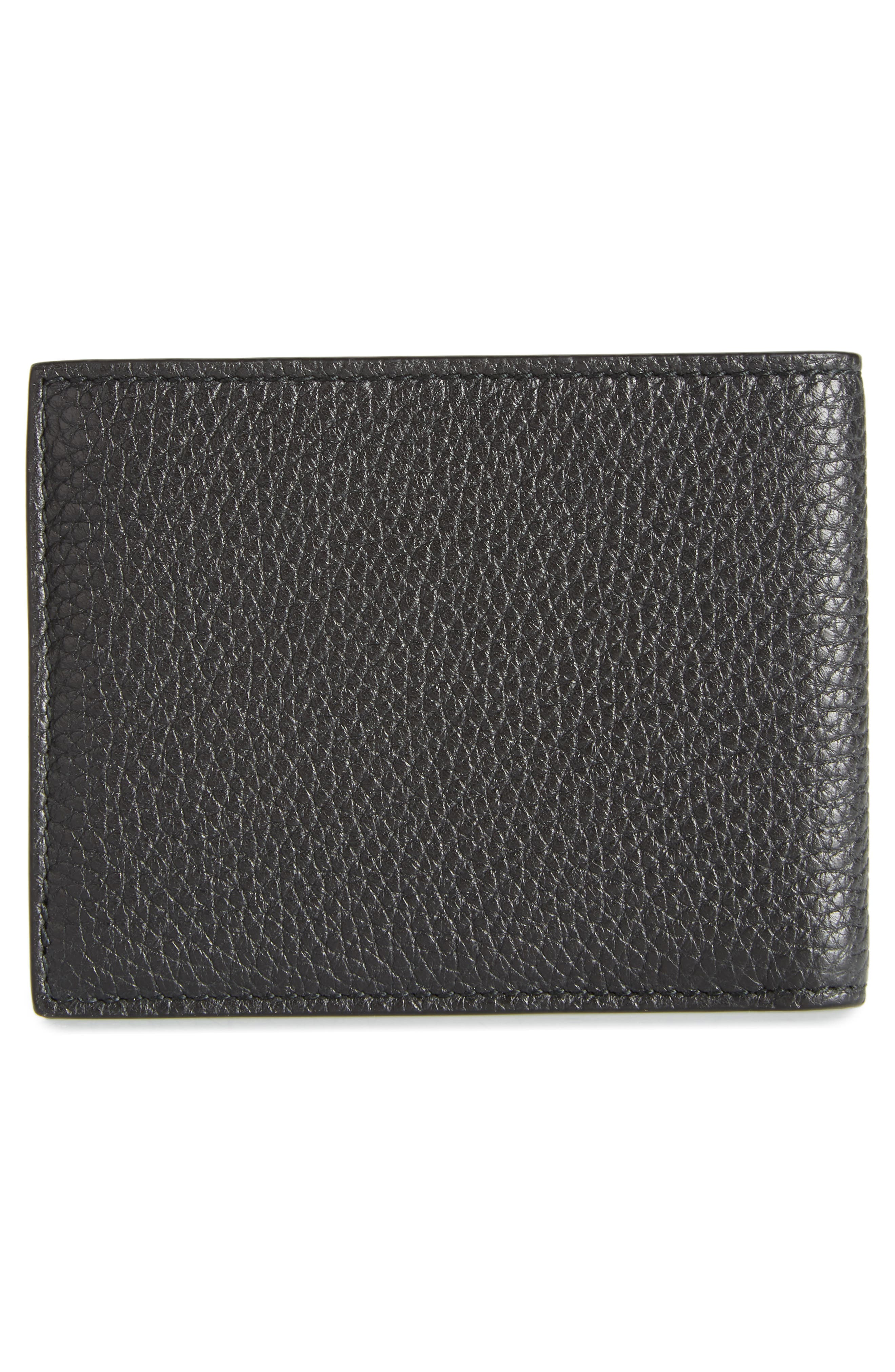 New Firenze Leather Wallet,                             Alternate thumbnail 3, color,                             NERO