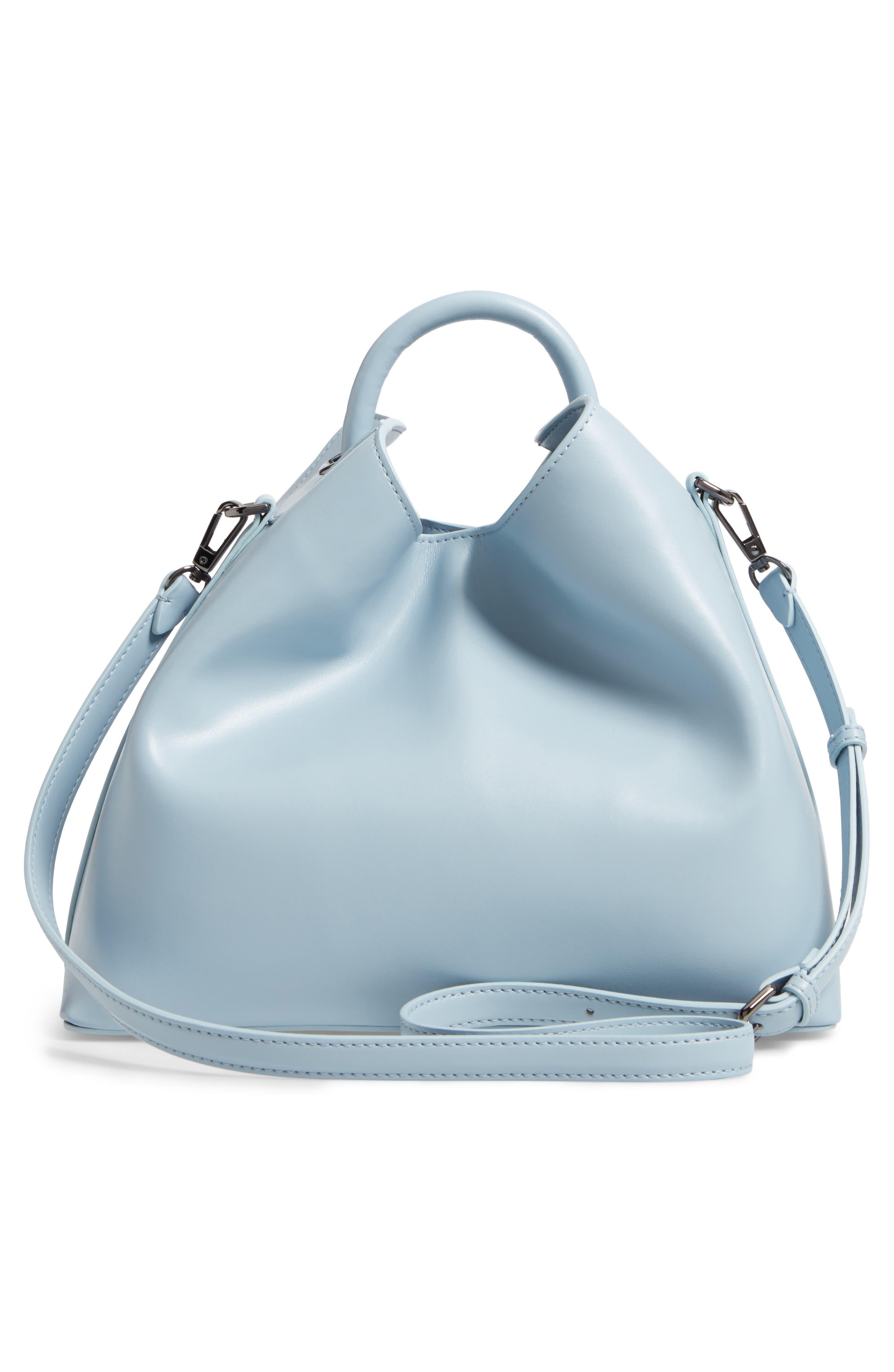 Raisin Leather Handbag,                             Alternate thumbnail 21, color,