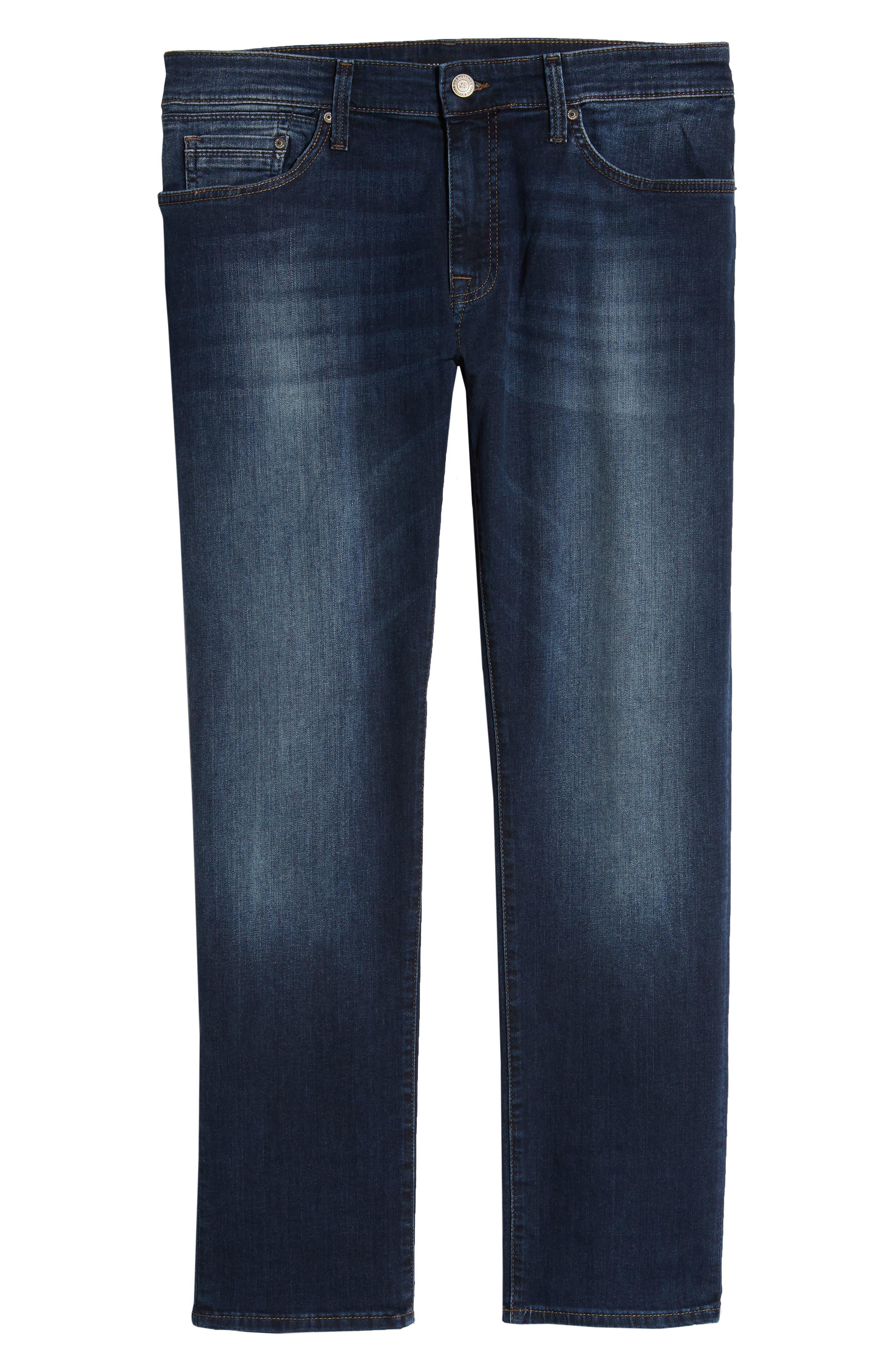 MAVI JEANS,                             Zach Straight Leg Jeans,                             Alternate thumbnail 3, color,                             DARK BRUSHED WILLIAMSBURG