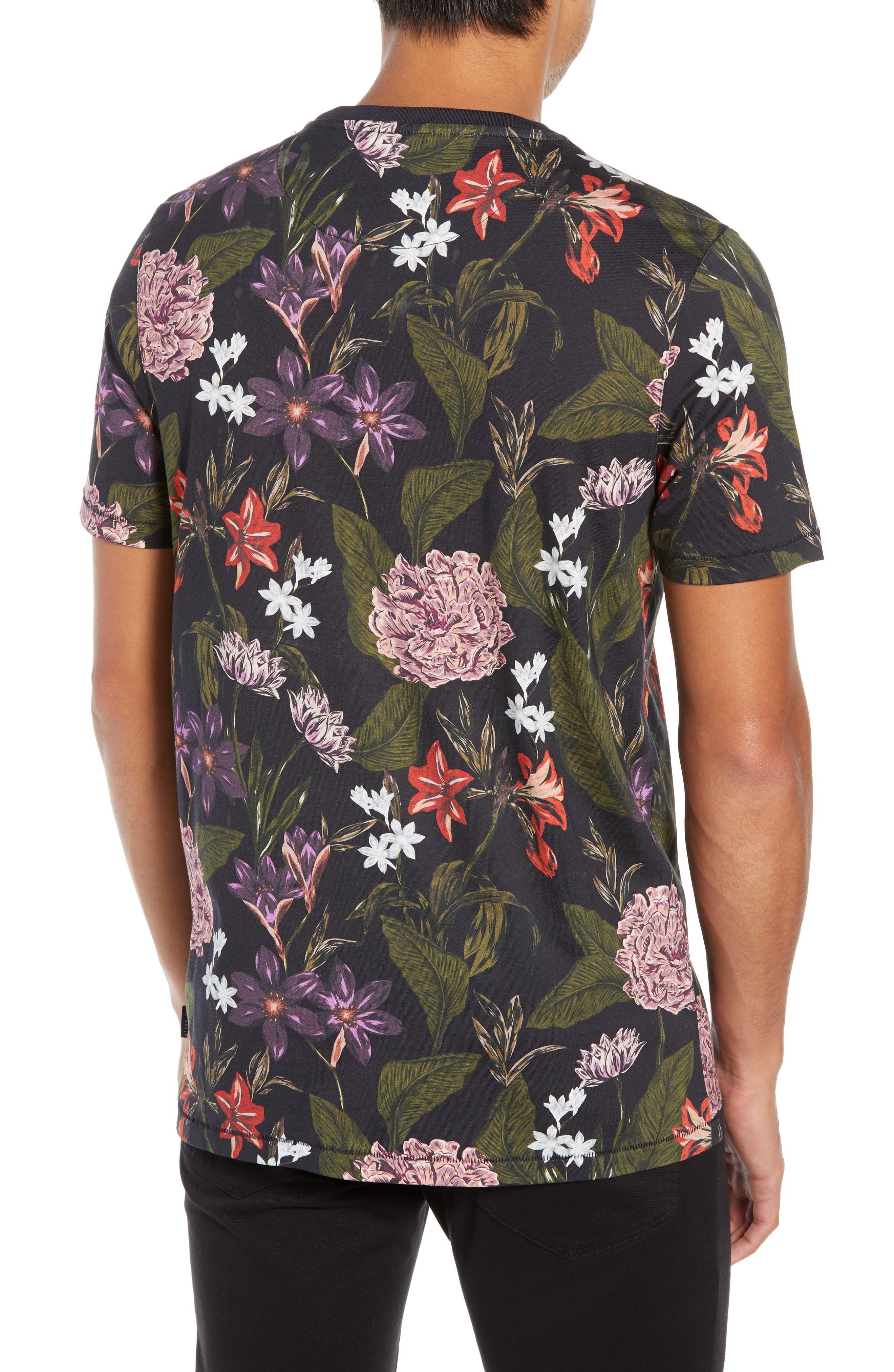 Glee Slim Fit Print T-Shirt,                             Alternate thumbnail 2, color,                             NAVY