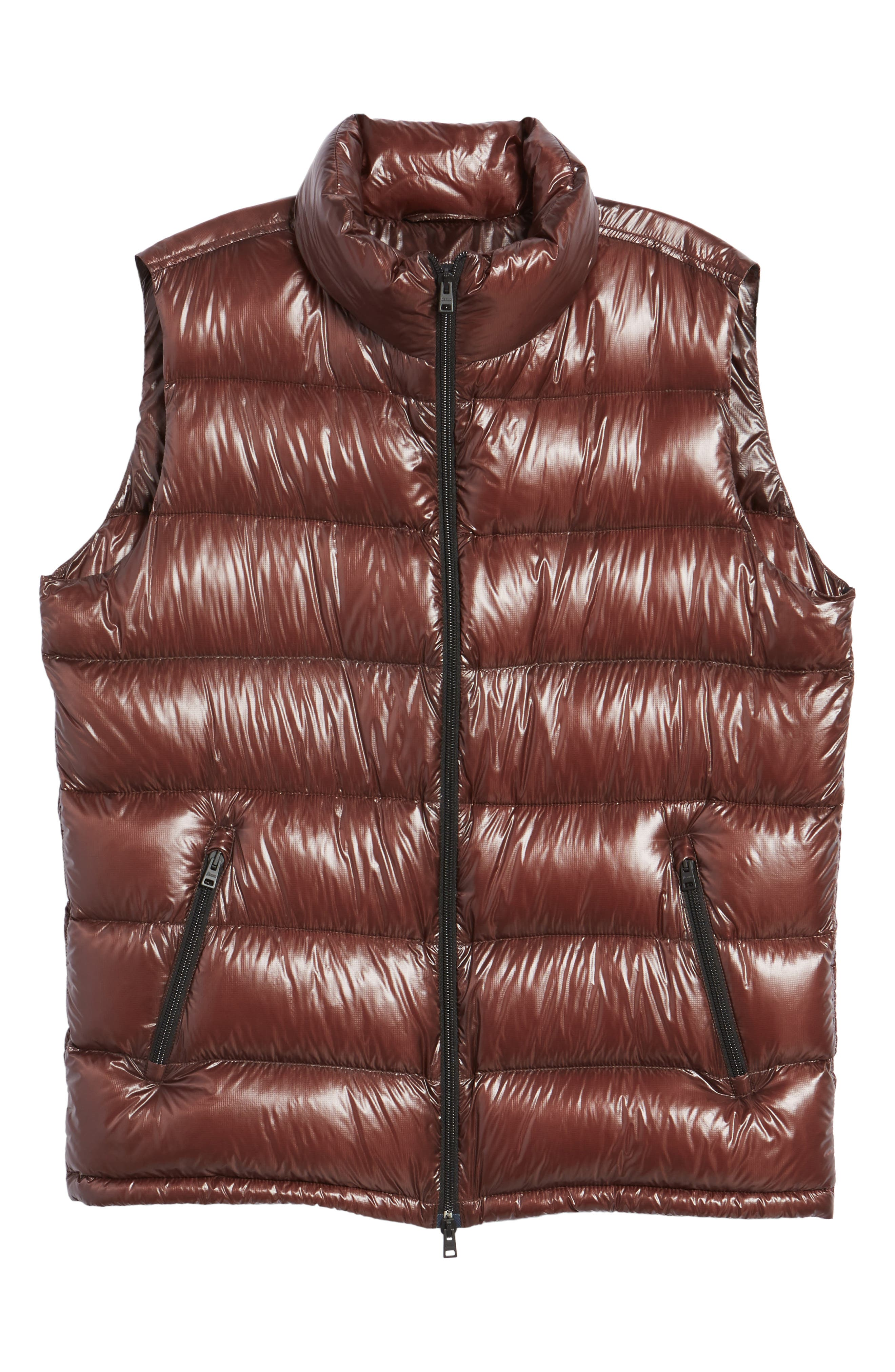 Quilted Down Vest,                             Alternate thumbnail 5, color,                             201