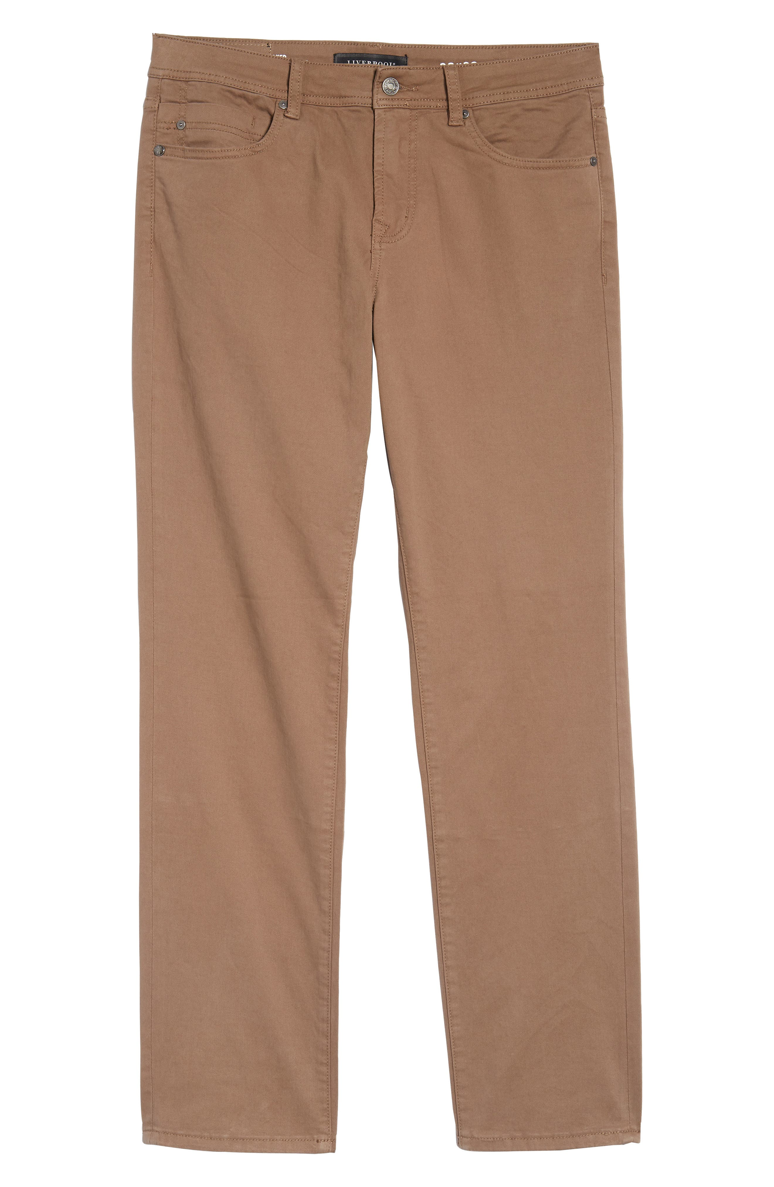 Jeans Co. Regent Relaxed Fit Straight Leg Jeans,                             Alternate thumbnail 6, color,                             CUB