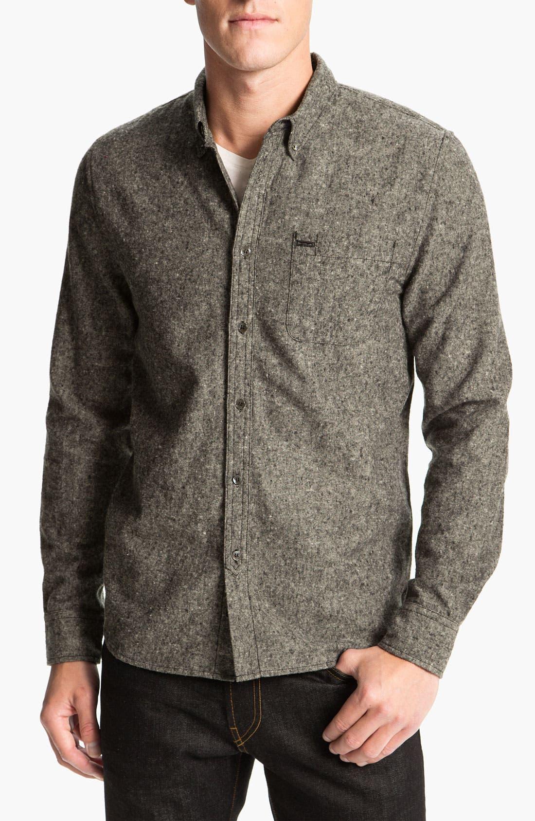 'Penny Oxford' Shirt, Main, color, 021