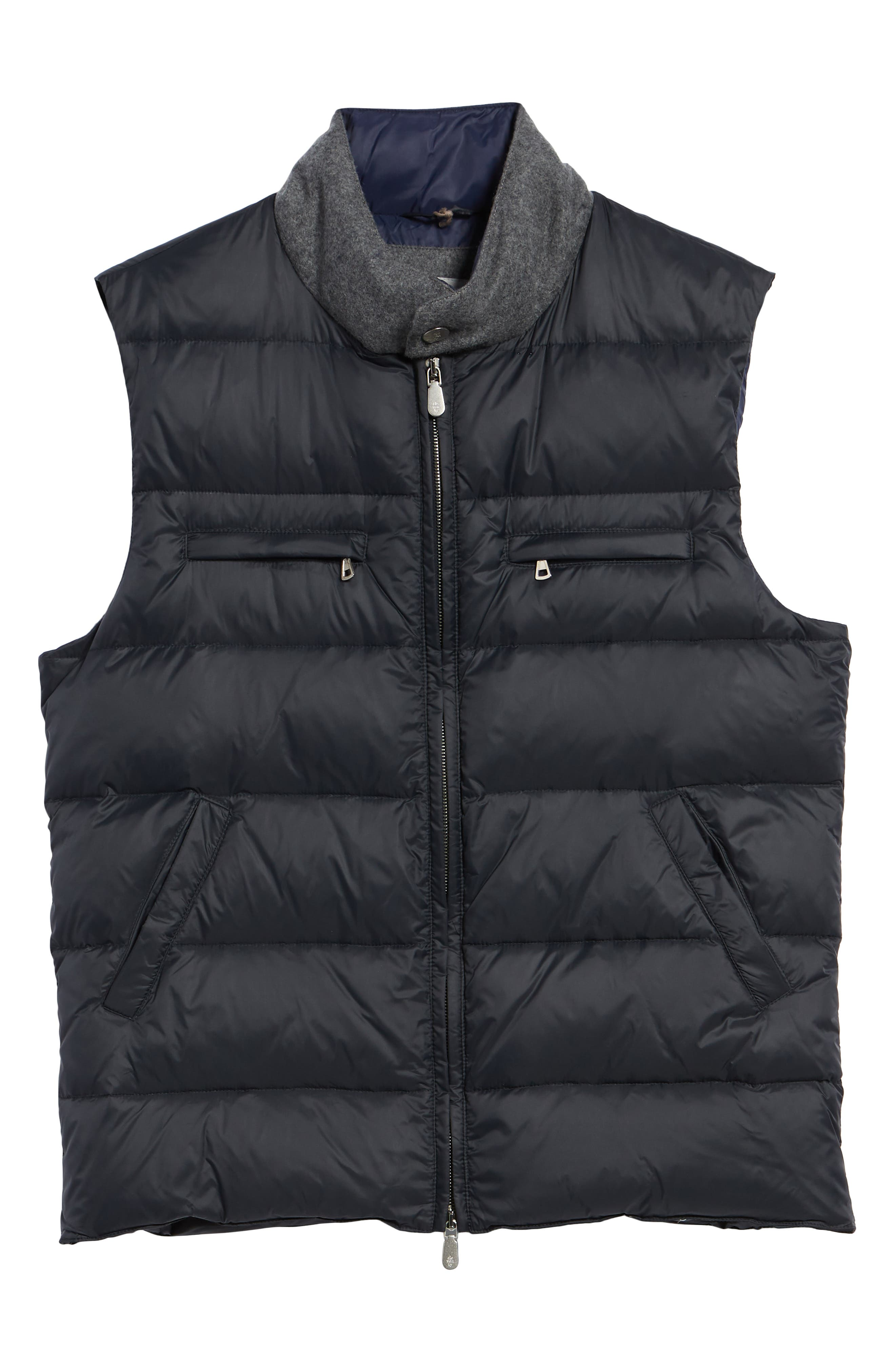 Quilted Vest,                             Alternate thumbnail 6, color,                             NAVY