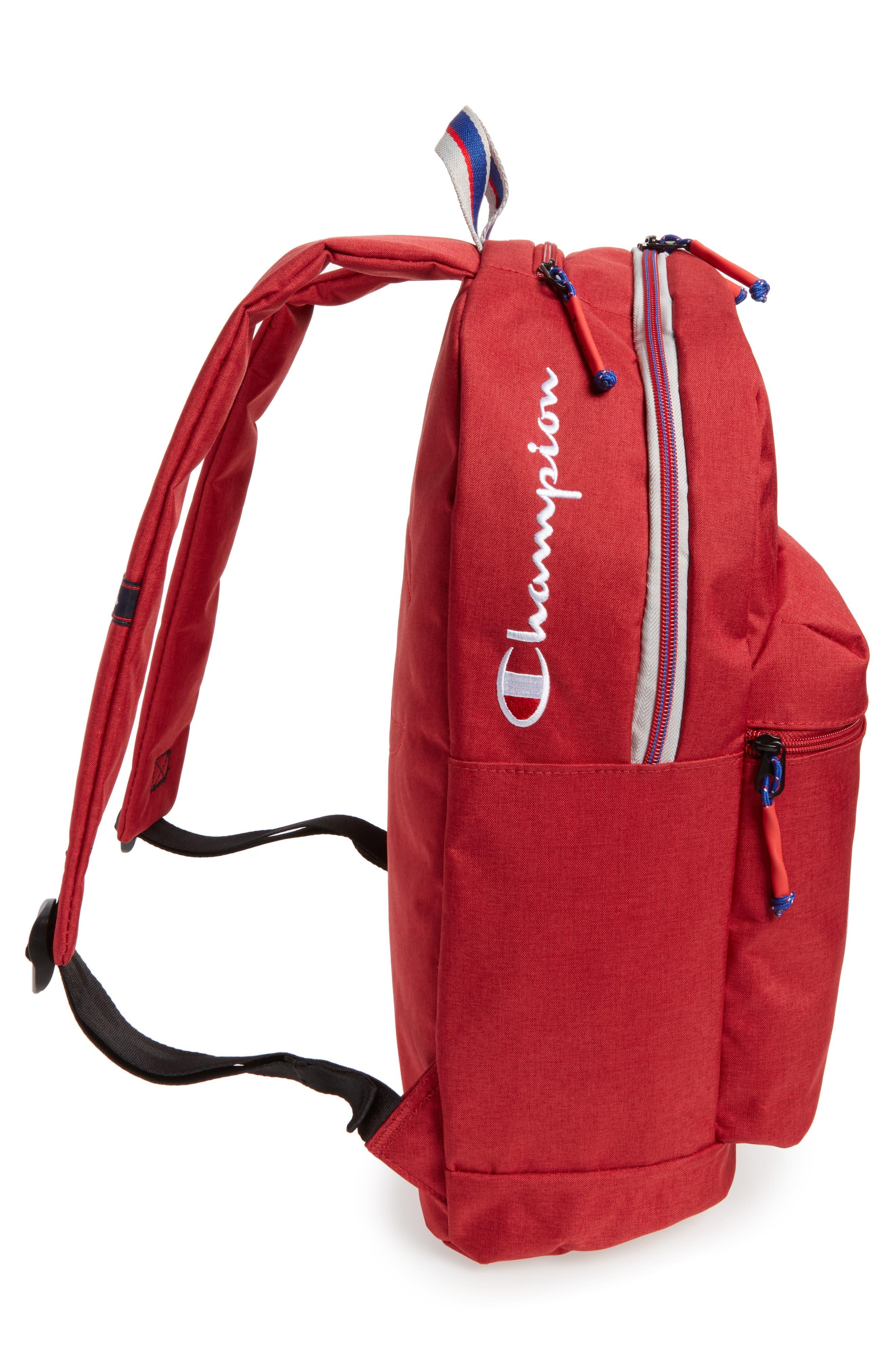Supercize Backpack,                             Alternate thumbnail 5, color,                             SCARLET HEATHER