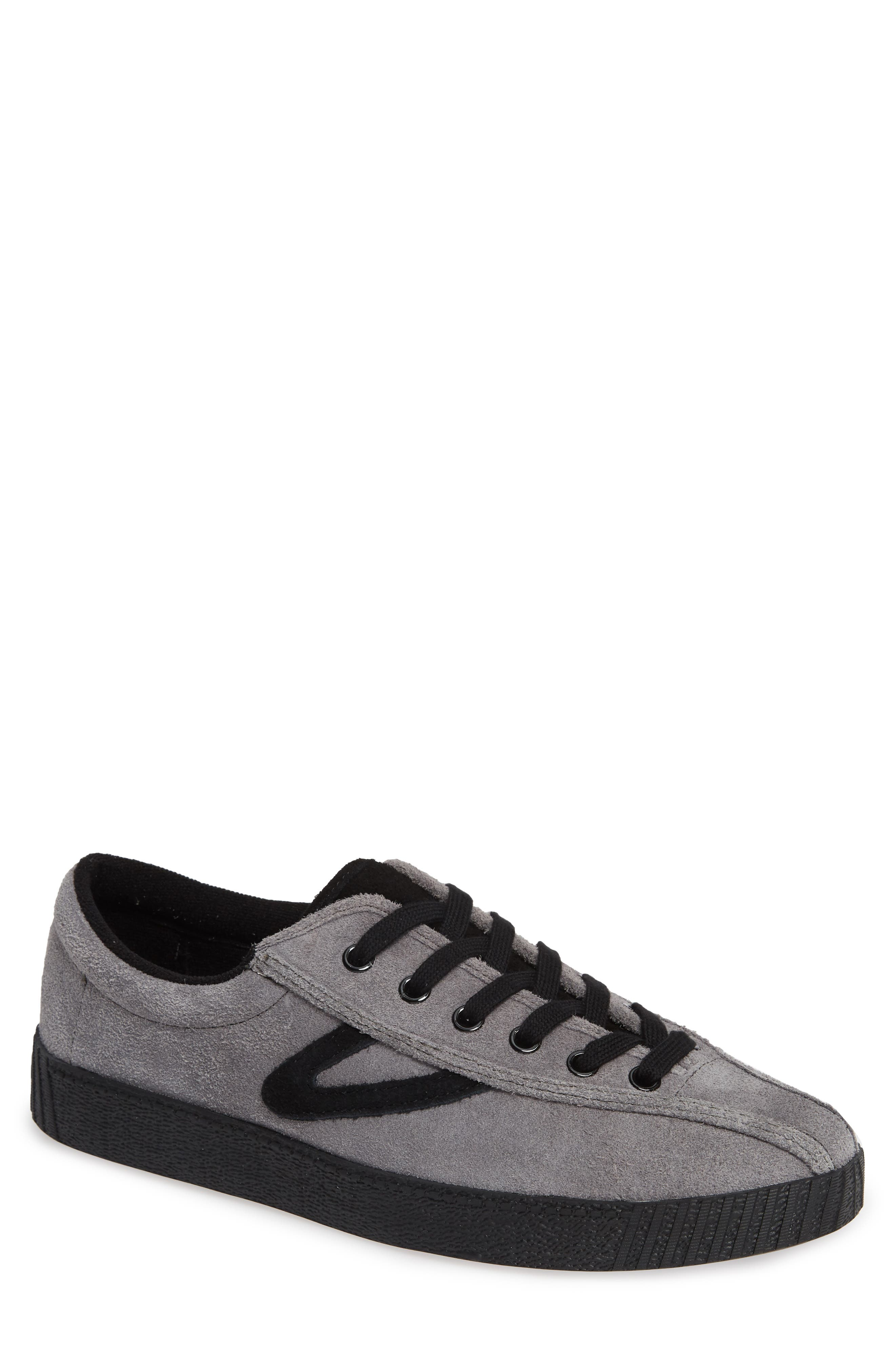 TRETORN Men'S Nylite 26 Plus Suede Sneakers in Gray