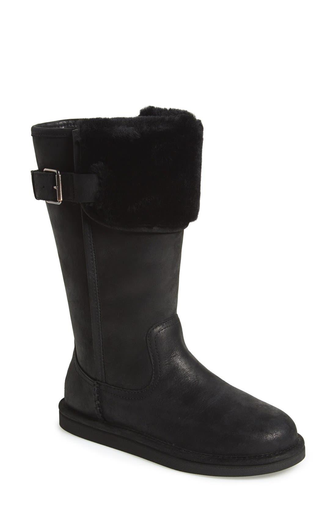 Australia 'Wilowe' Water Resistant Boot, Main, color, 001