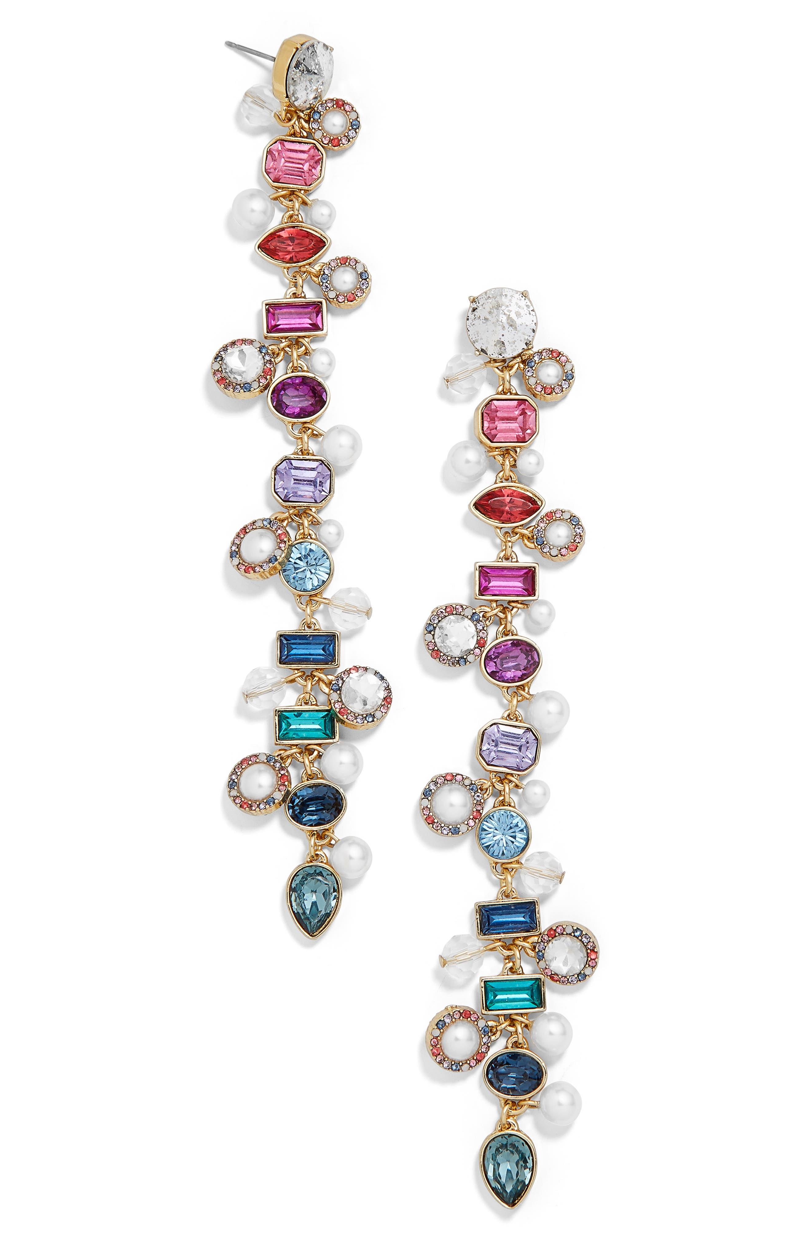 x Micaela Erlanger Sunday Funday Tassel Earrings,                         Main,                         color, 710