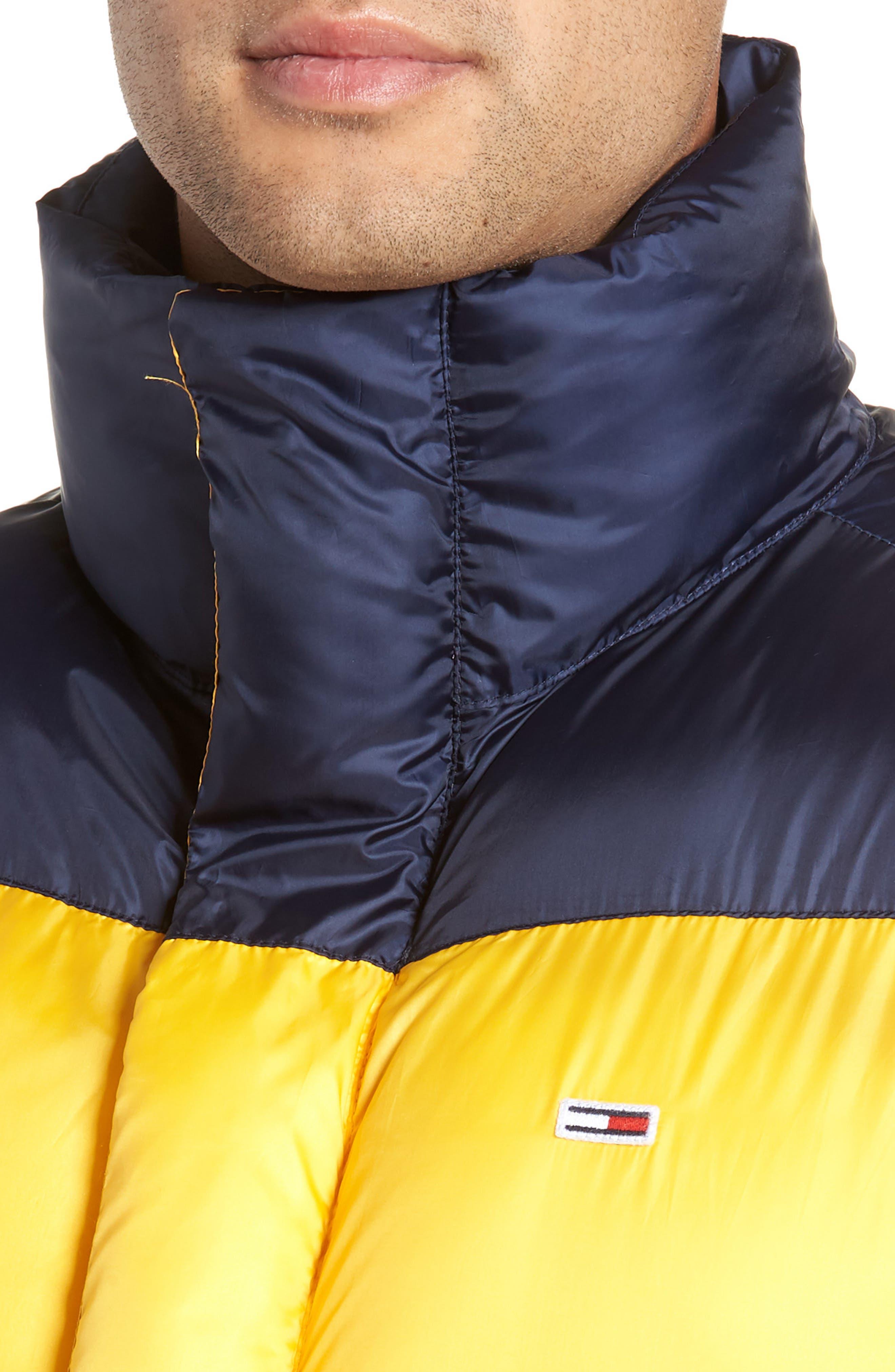TJM Tommy Classics Vest,                             Alternate thumbnail 4, color,                             SPECTRA YELLOW / BLACK IRIS