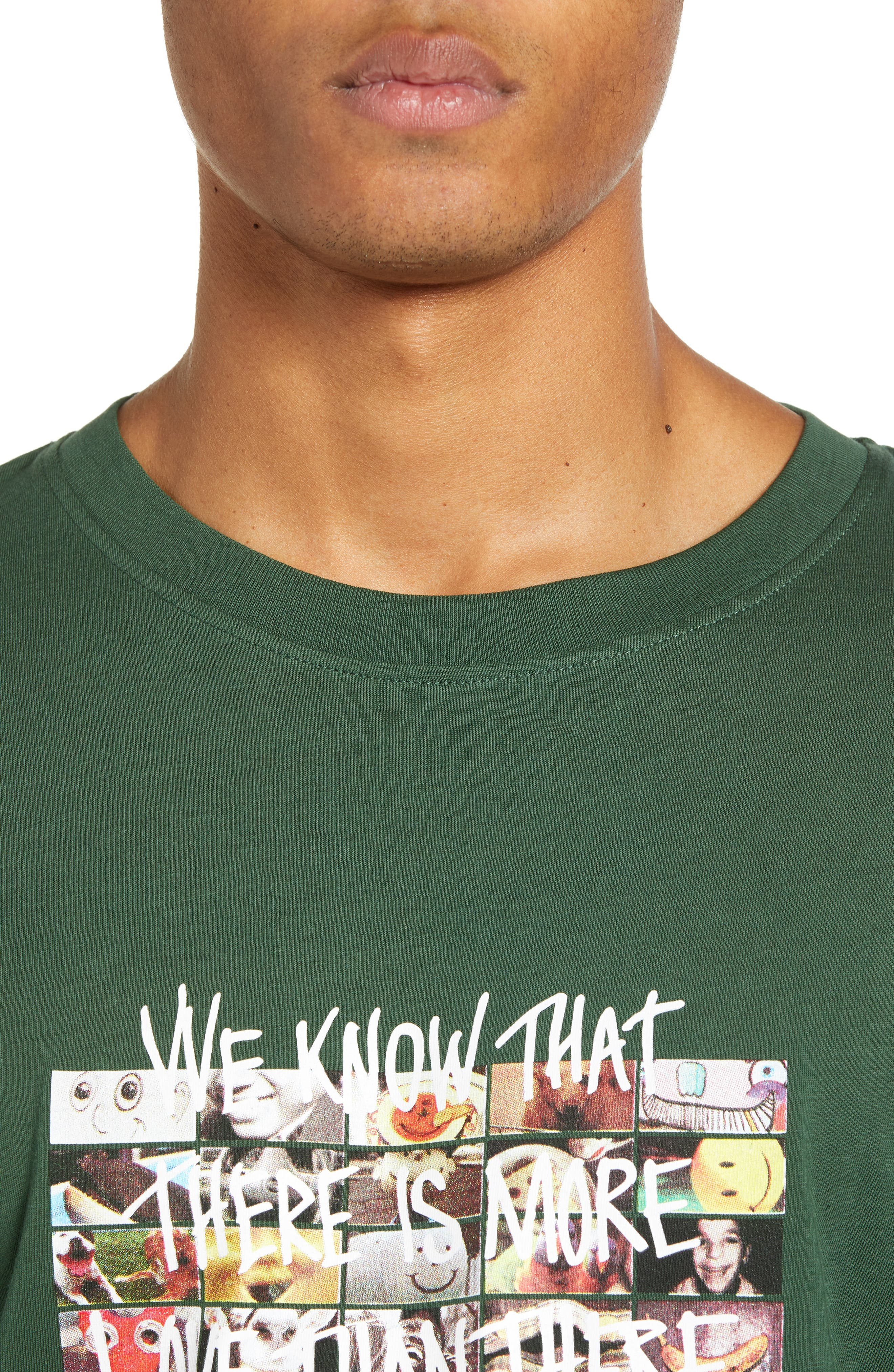 Max More Love Graphic T-Shirt,                             Alternate thumbnail 4, color,                             SYCAMORE