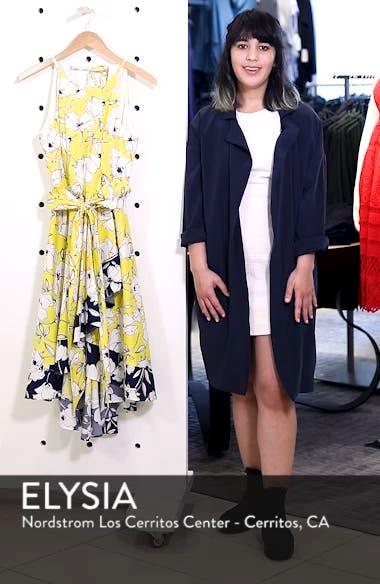 Floral Tie Waist Dress, sales video thumbnail