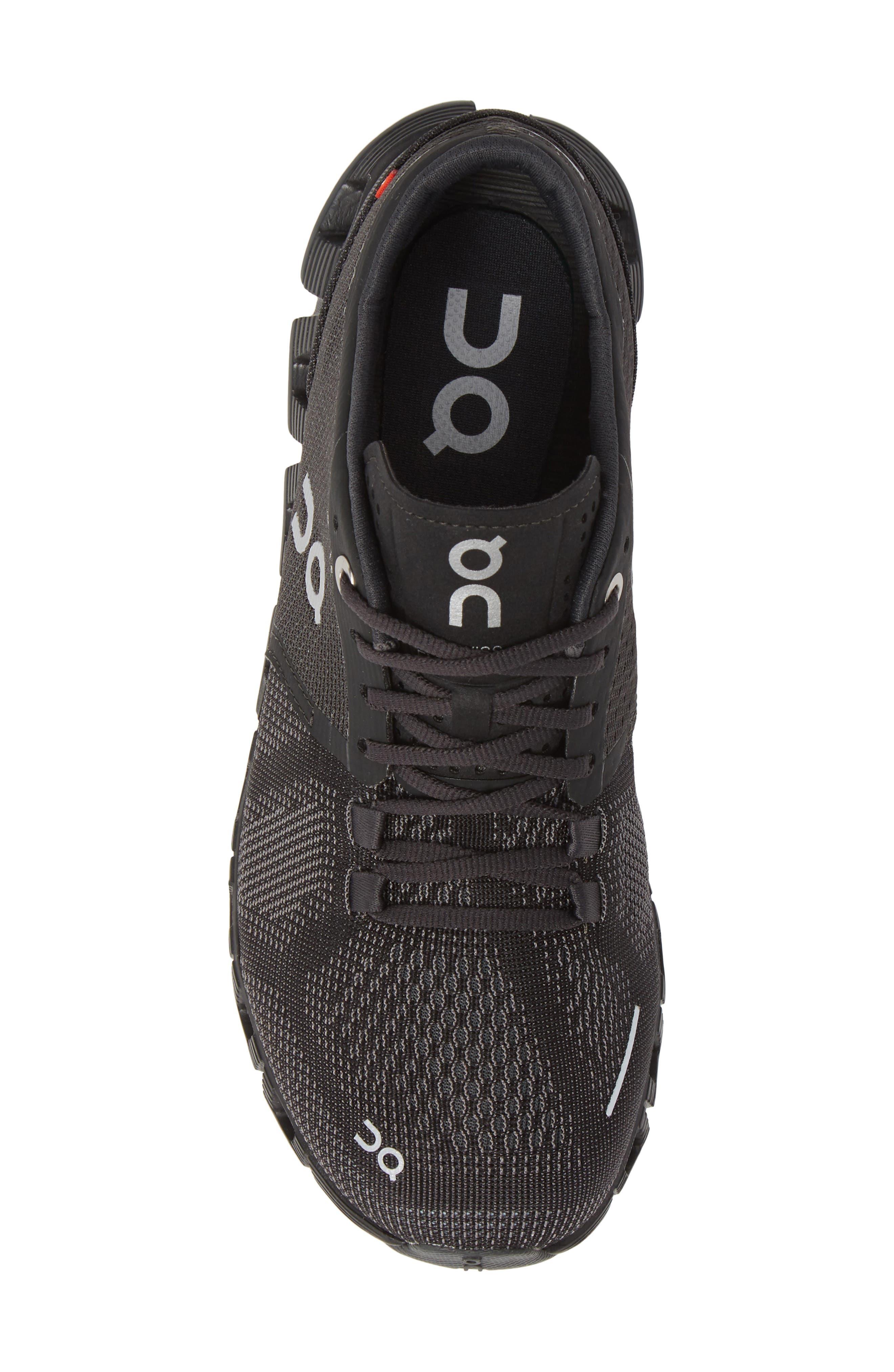 Cloud X Running Shoe,                             Alternate thumbnail 5, color,                             BLACK/ ASPHALT