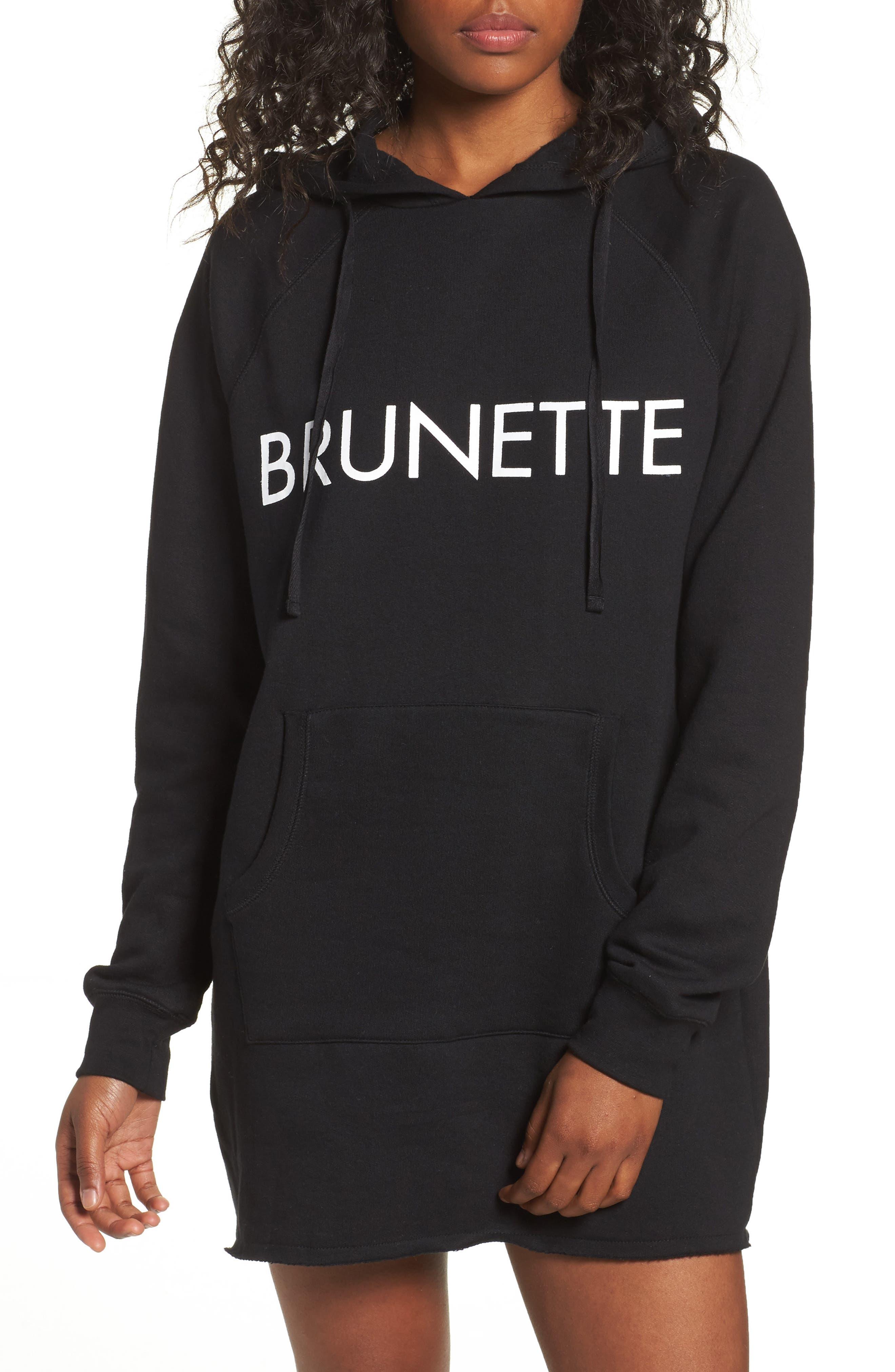Brunette Long Hoodie,                         Main,                         color, 001