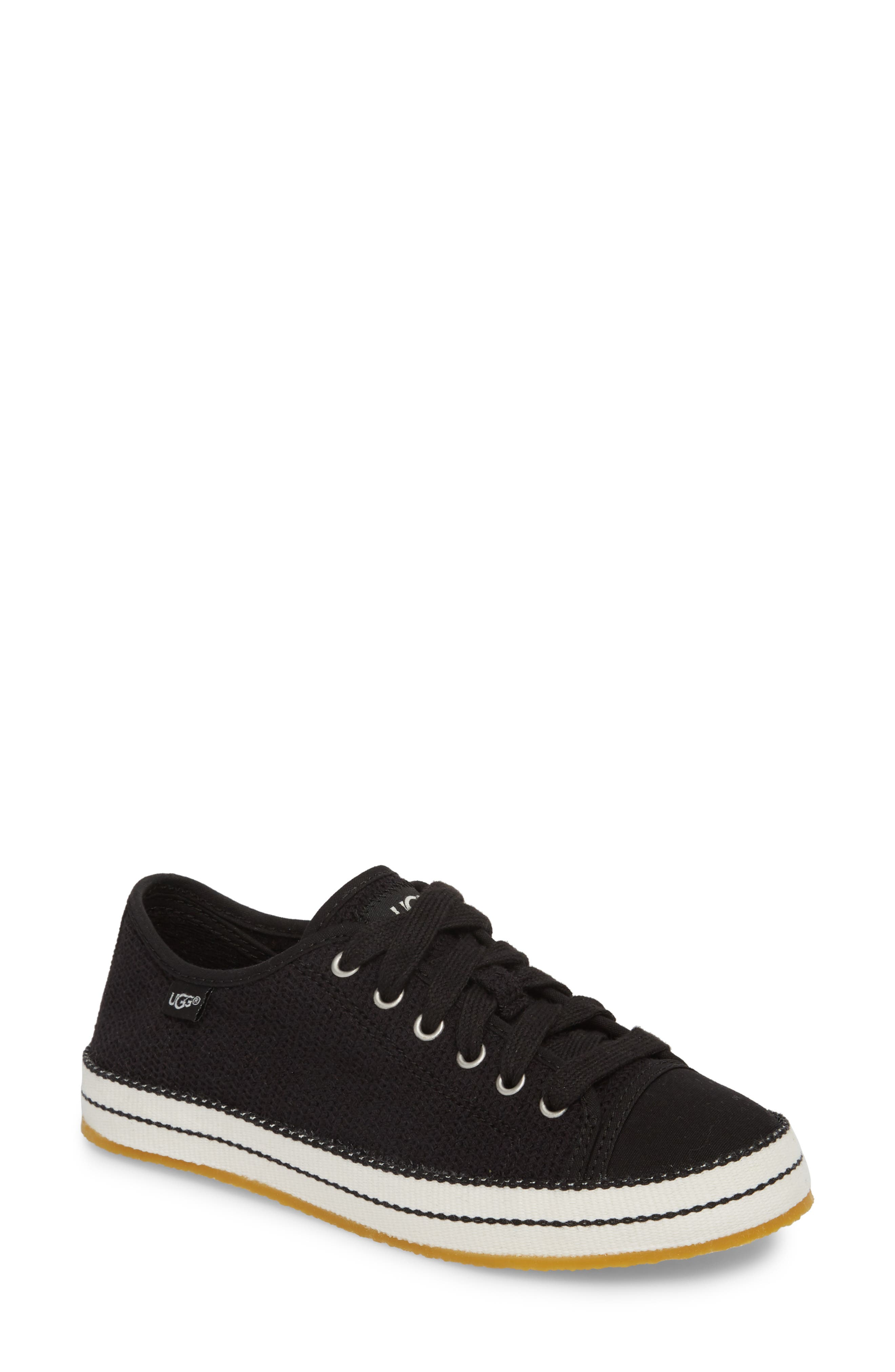 Claudi Sneaker,                         Main,                         color, BLACK