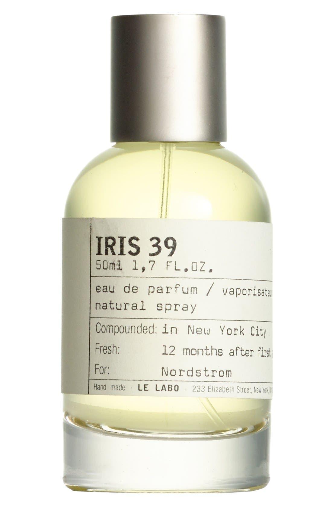 'Iris 39' Eau de Parfum,                             Alternate thumbnail 4, color,                             NO COLOR