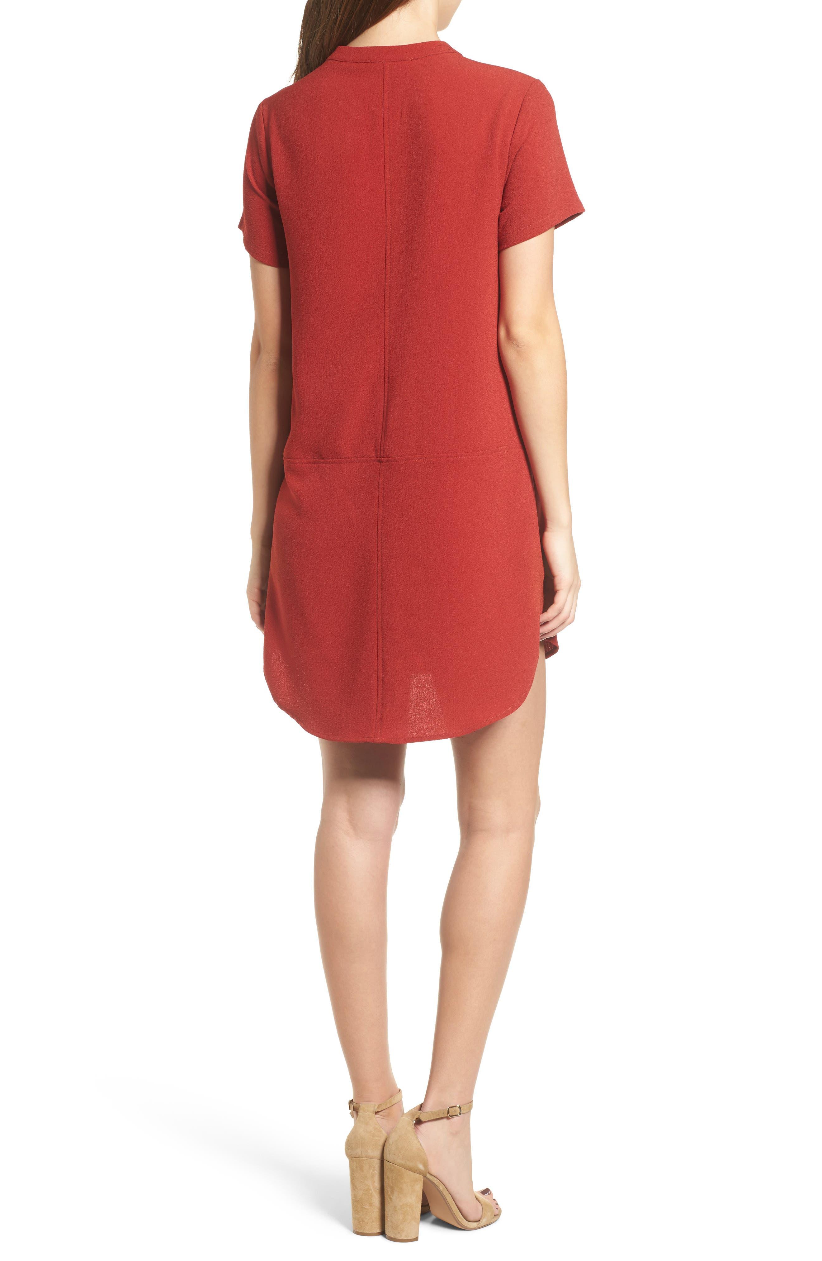 Hailey Crepe Dress,                             Alternate thumbnail 45, color,
