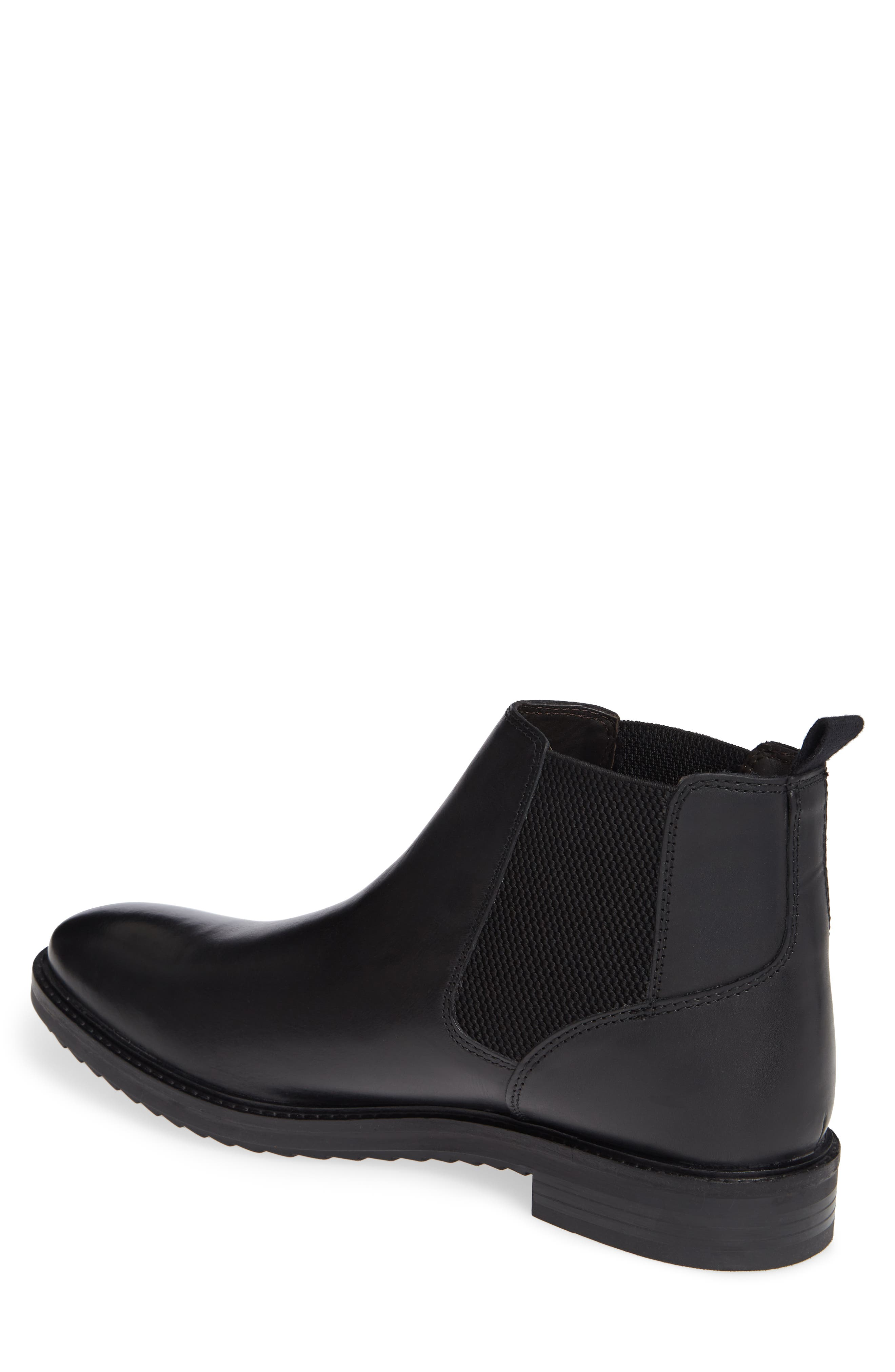 Kingsley Chelsea Boot,                             Alternate thumbnail 2, color,                             BLACK