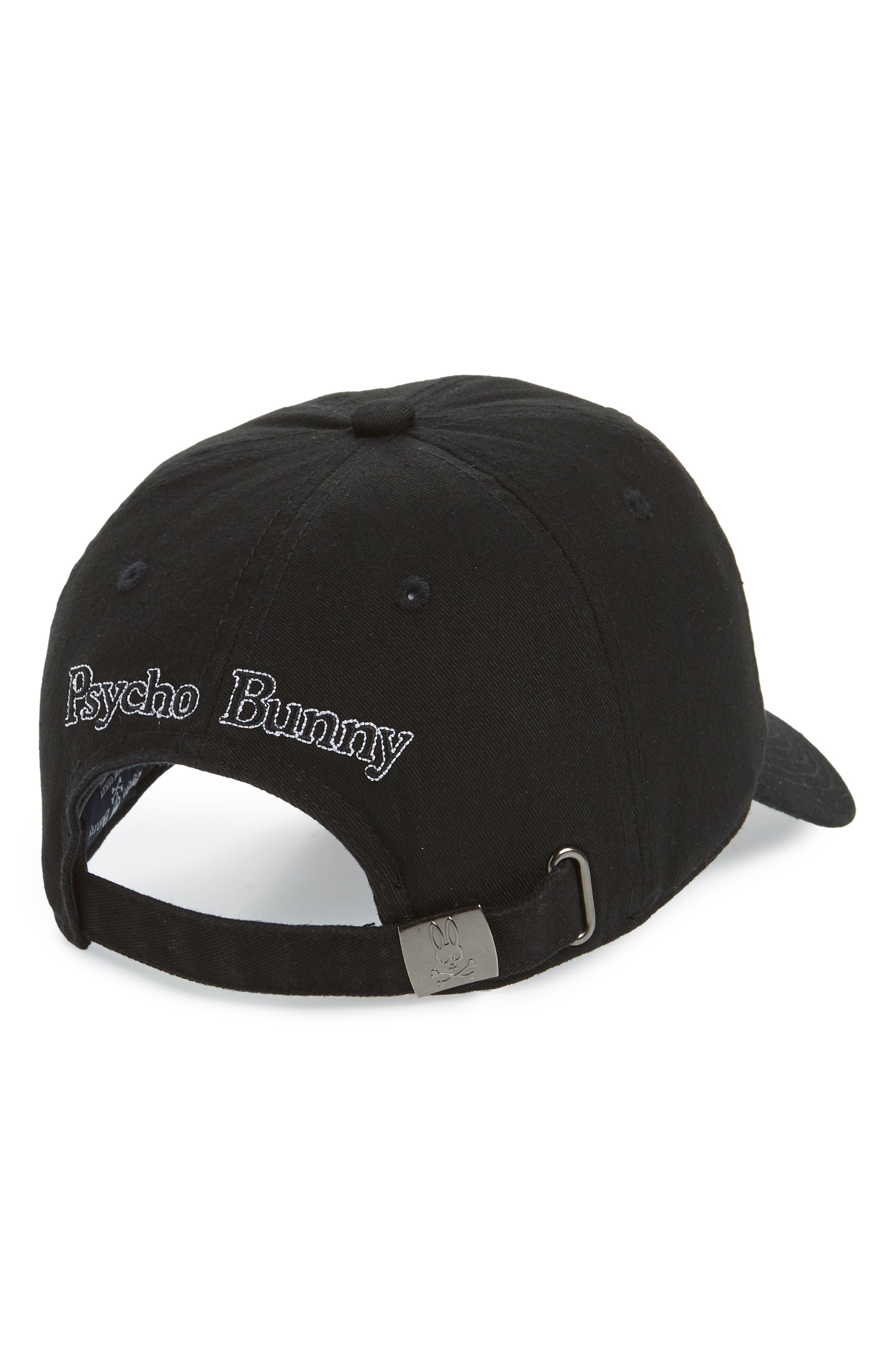 Sunbleached Logo Ball Cap,                             Alternate thumbnail 2, color,                             BLACK