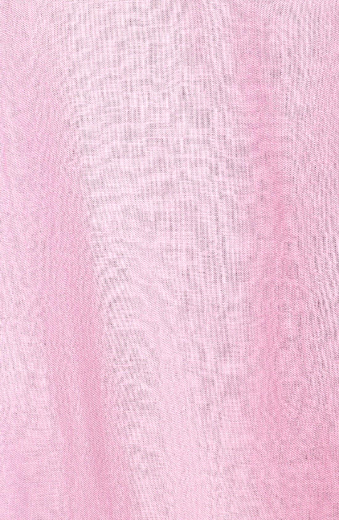 'Caroubier' Linen Shirt,                             Alternate thumbnail 40, color,