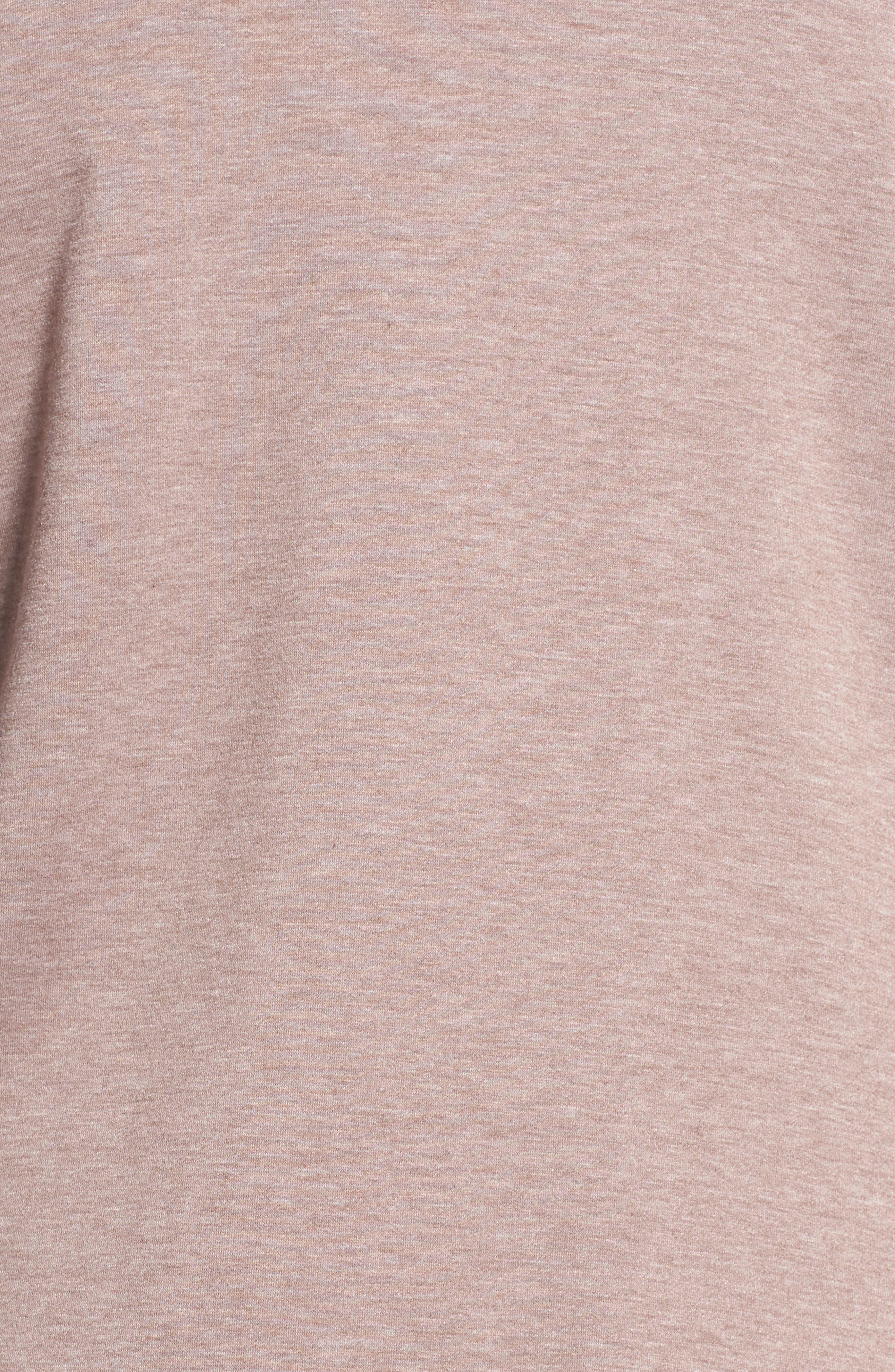 One-Button Fleece Cardigan,                             Alternate thumbnail 201, color,