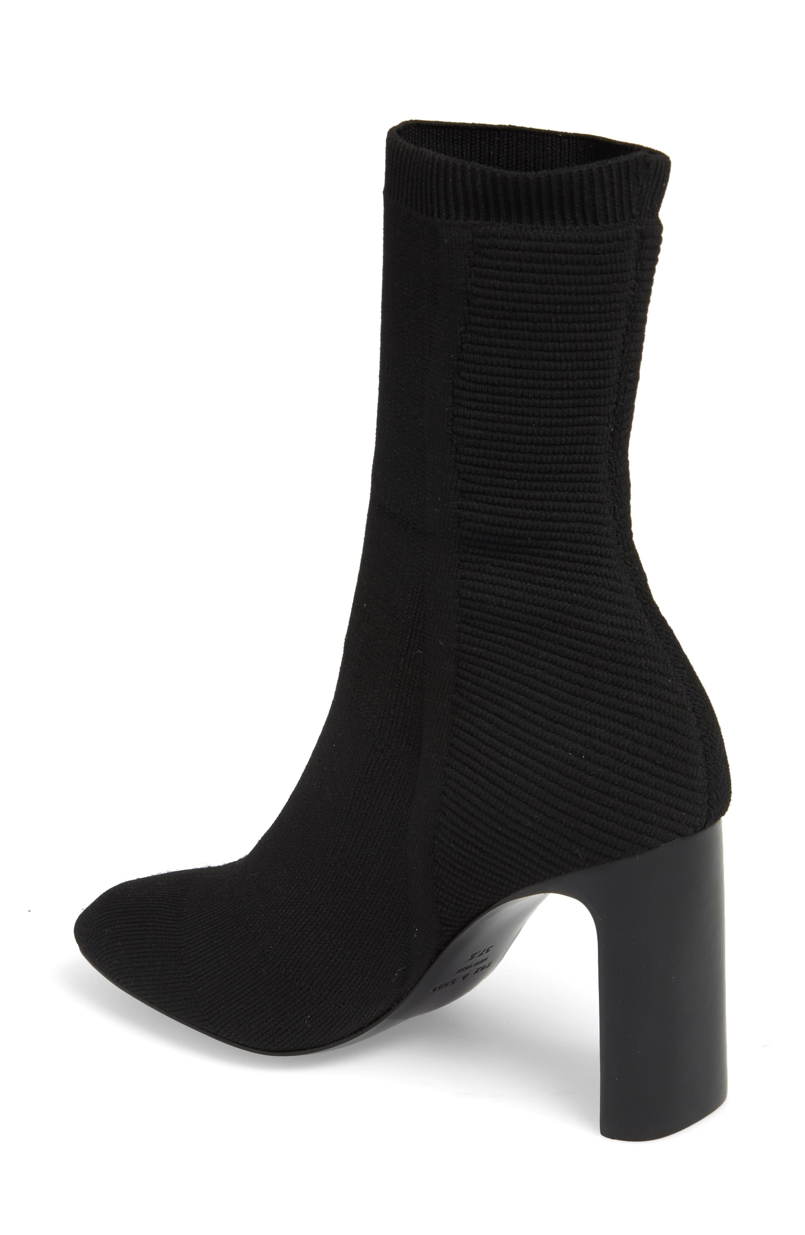 Ellis Sock Knit Boot,                             Alternate thumbnail 2, color,                             001