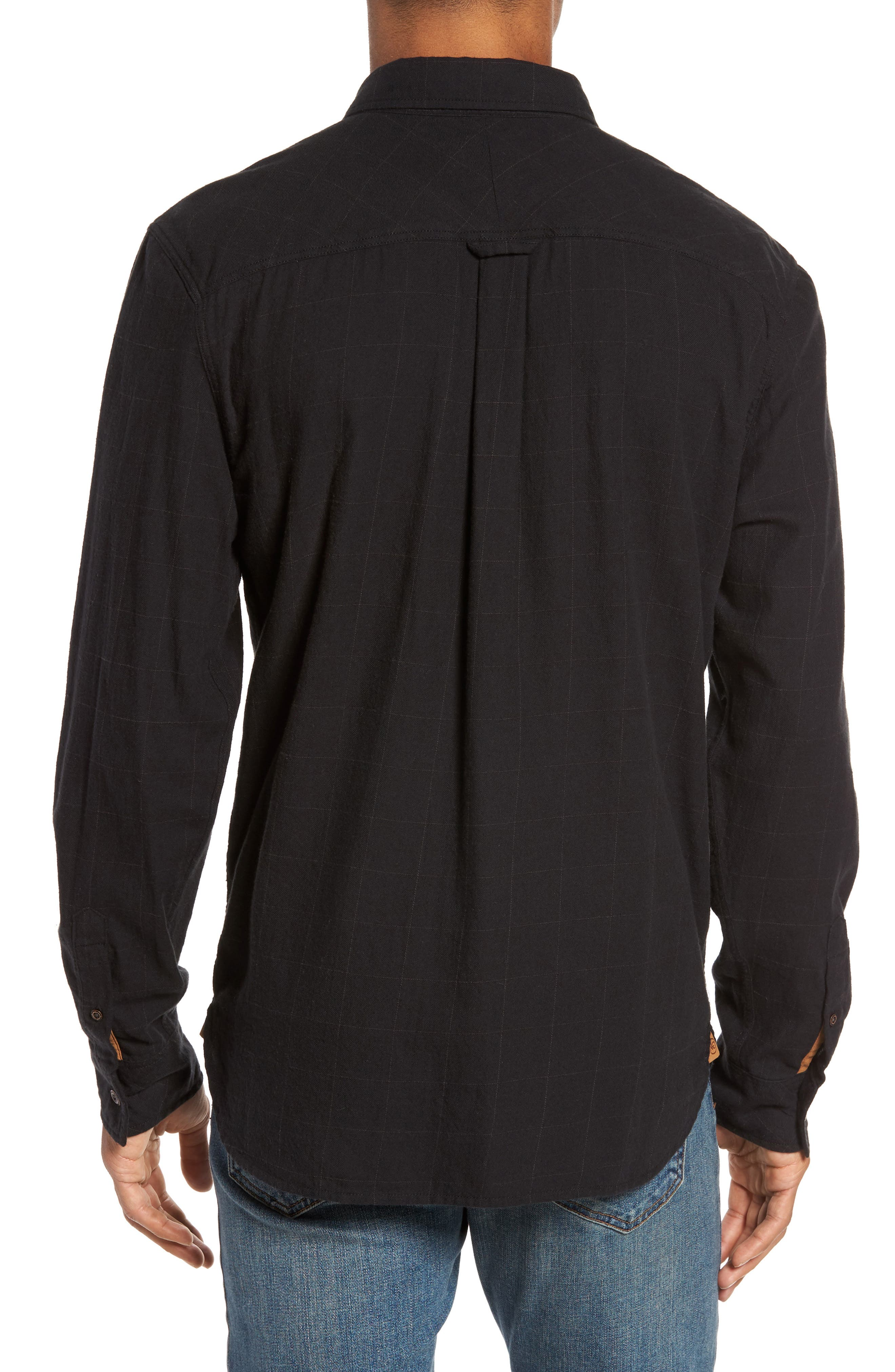 Tuman Windowpane Sport Shirt,                             Alternate thumbnail 2, color,                             001